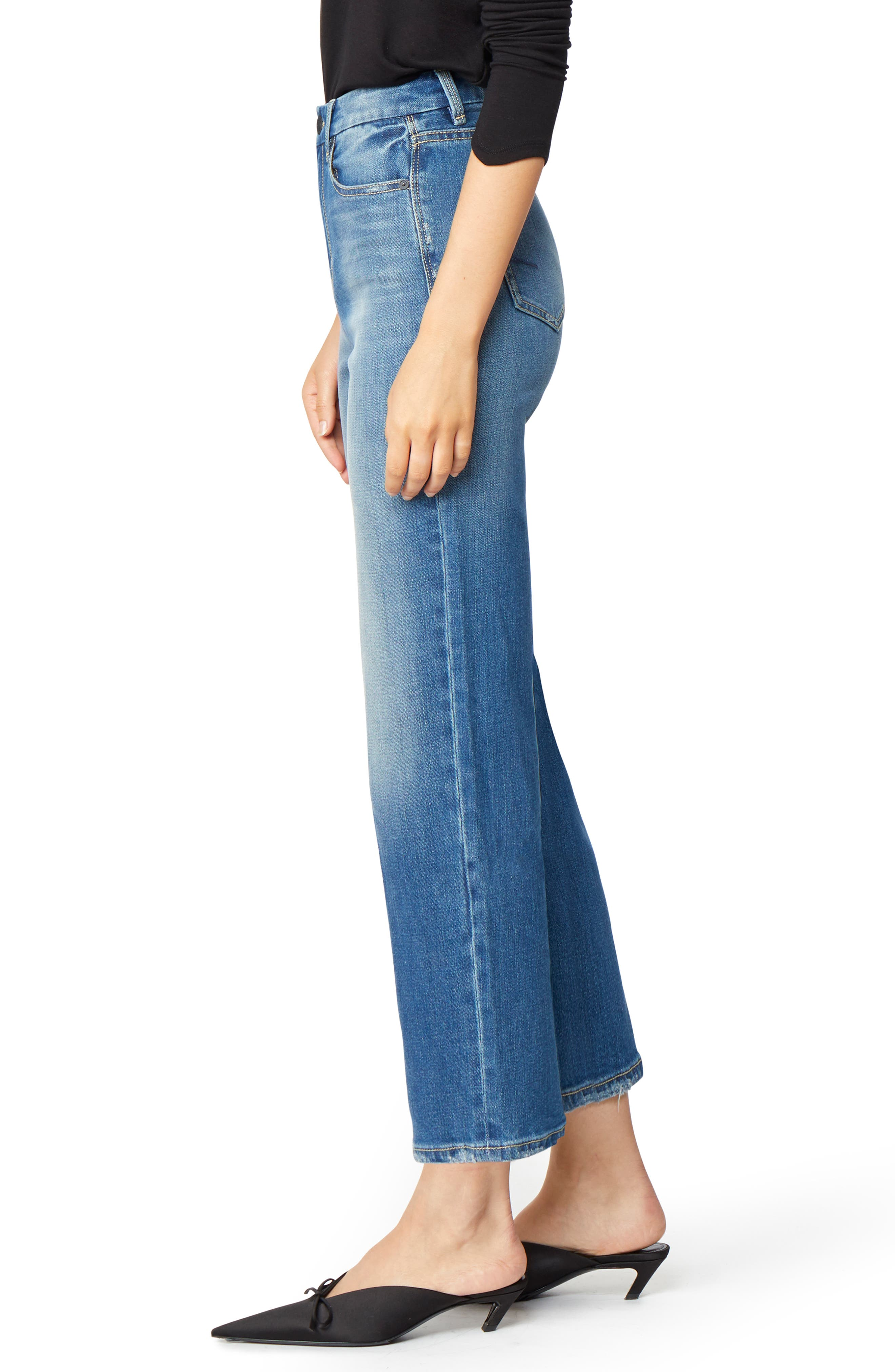 Haven Super High Rise Straight Leg Jeans,                             Alternate thumbnail 3, color,                             IMPERIAL