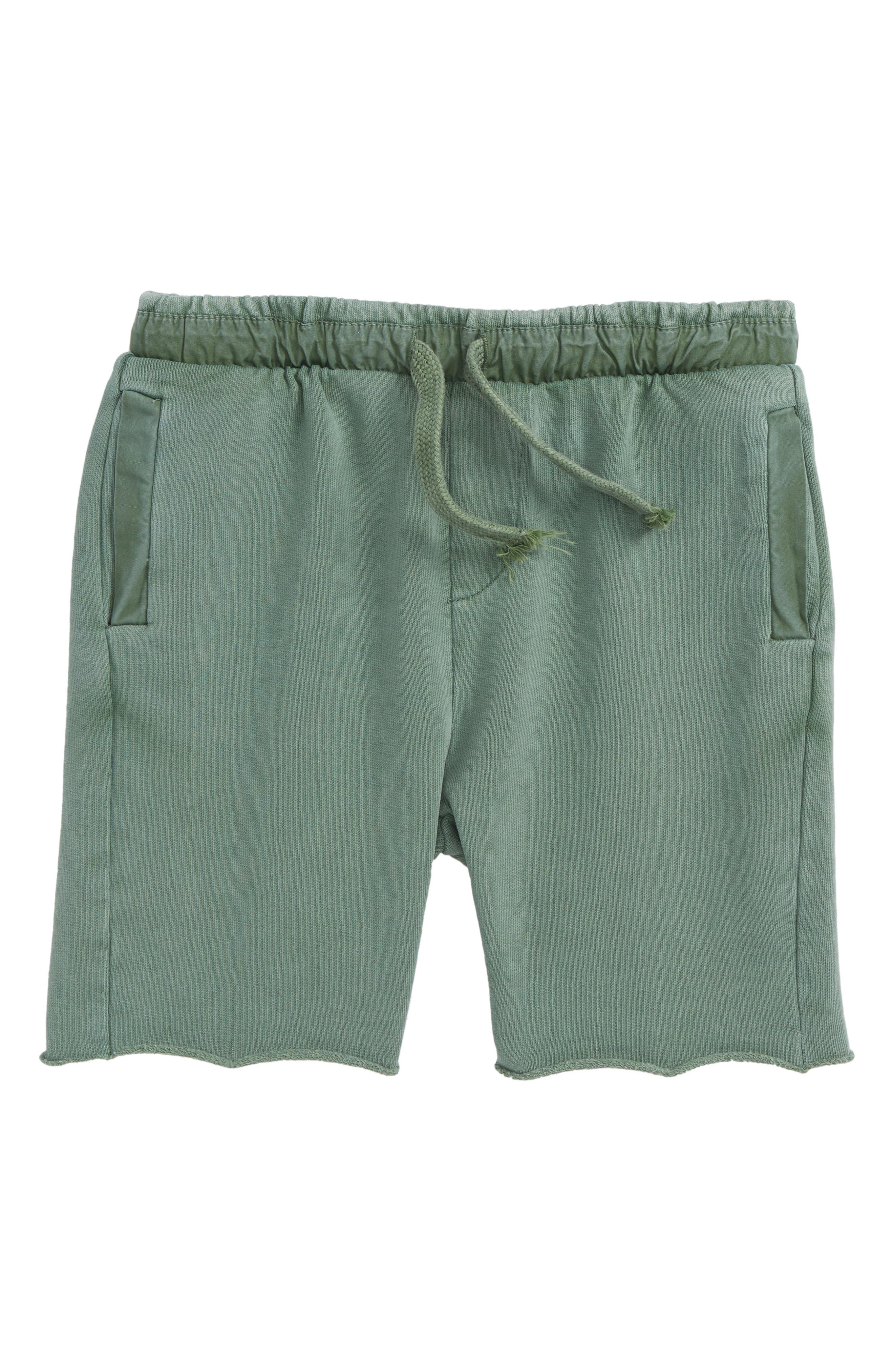 Kids Cullen Organic Cotton Shorts,                             Main thumbnail 1, color,                             370