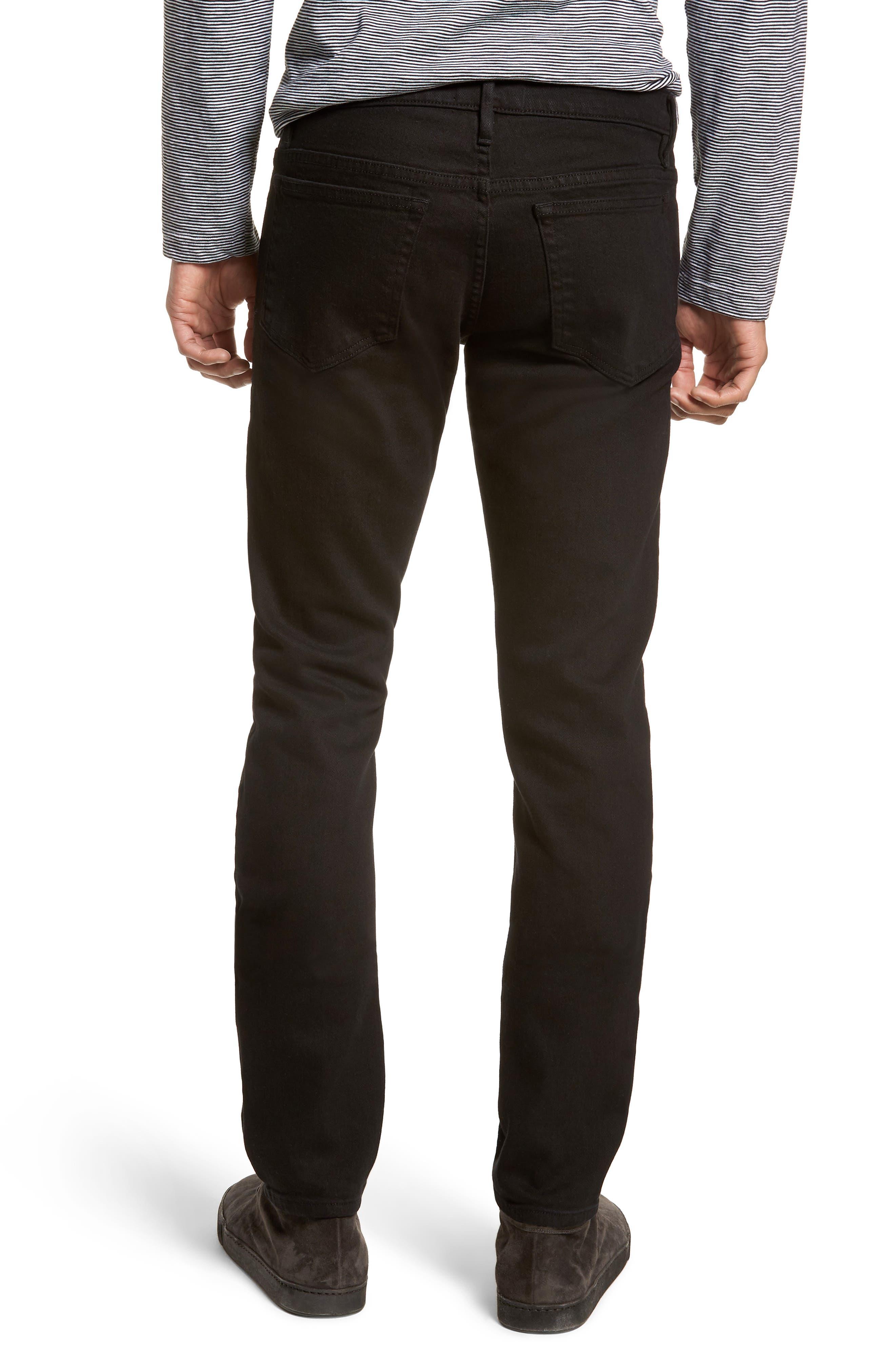 L'Homme Slim Fit Jeans,                             Alternate thumbnail 2, color,                             NOIR