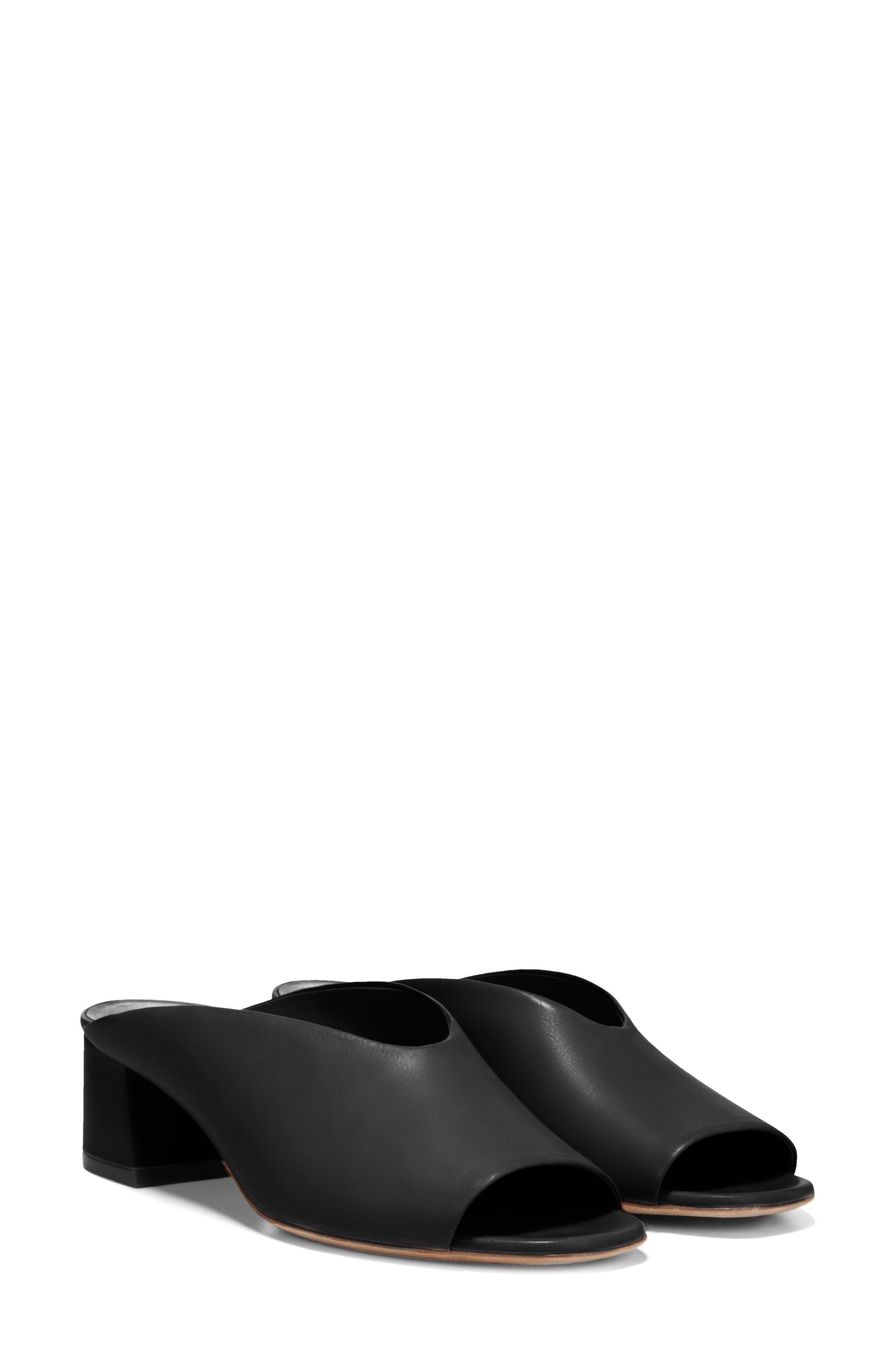 Cachet Sandal,                             Alternate thumbnail 6, color,                             BLACK SIVIGLIA CALF