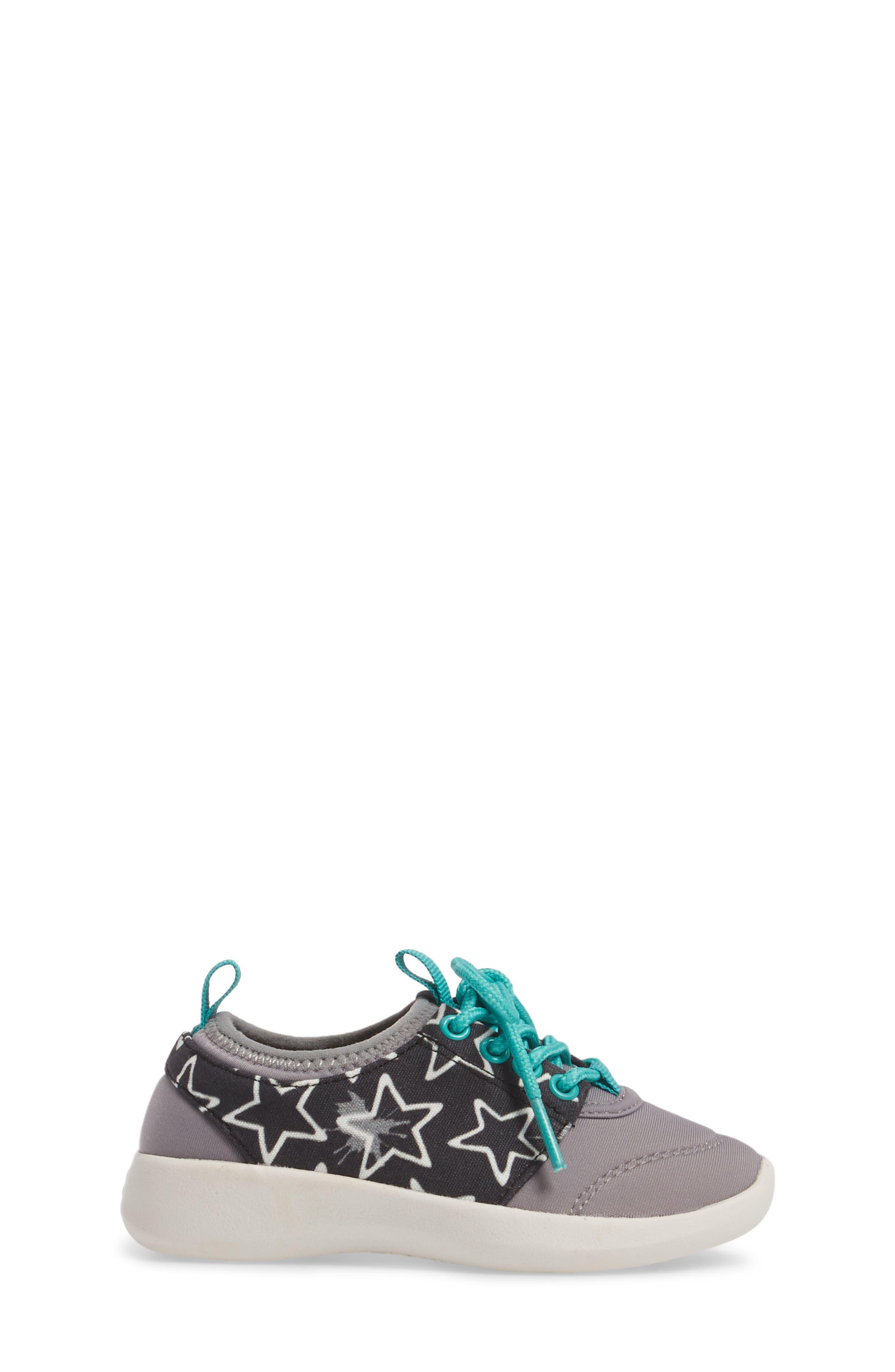 Bolt Sock-Fit Sneaker,                             Alternate thumbnail 3, color,                             001