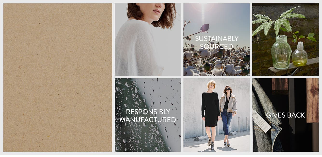 Nordstrom Sustainable Style.