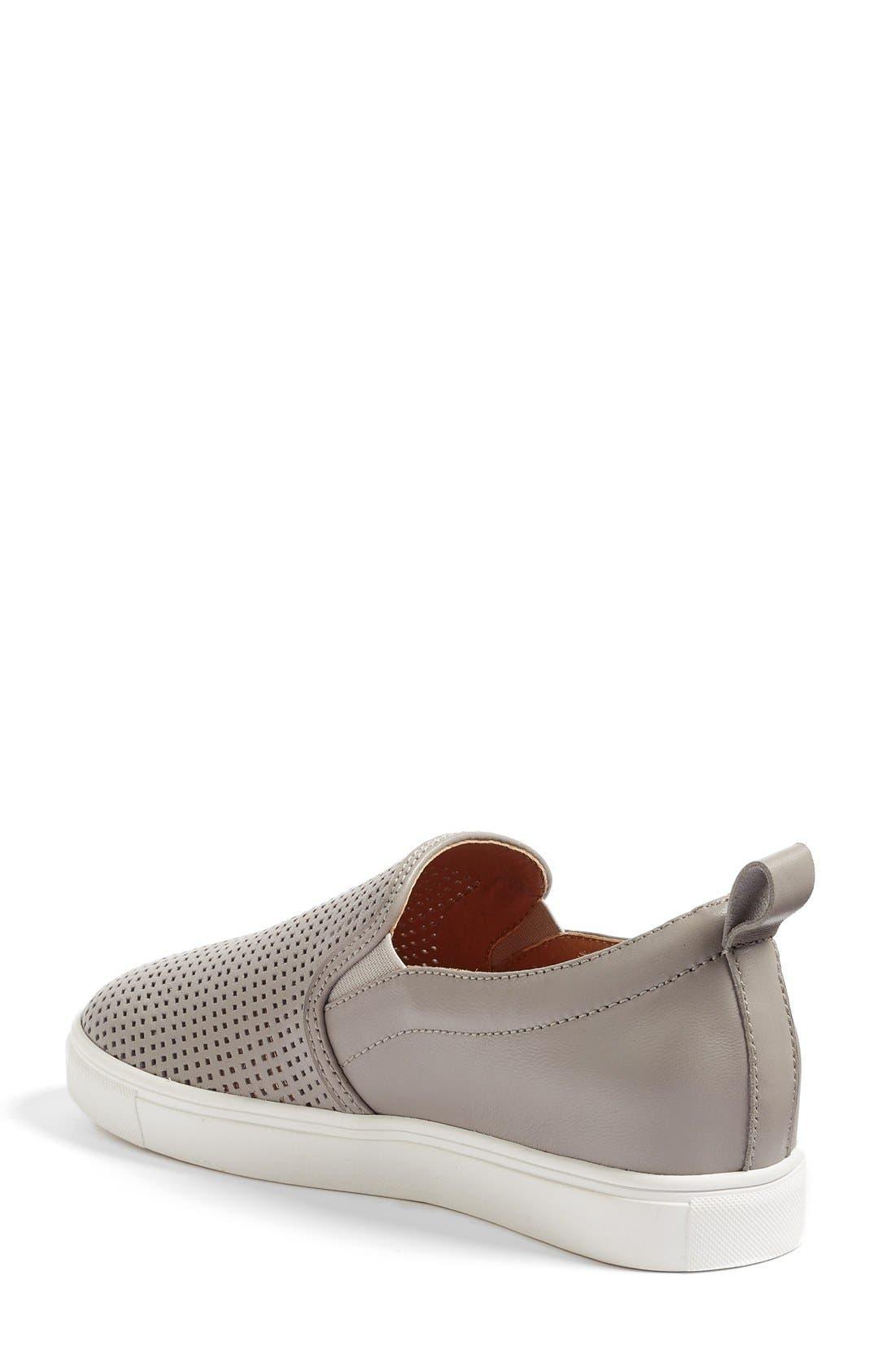 Eden Perforated Slip-On Sneaker,                             Alternate thumbnail 23, color,