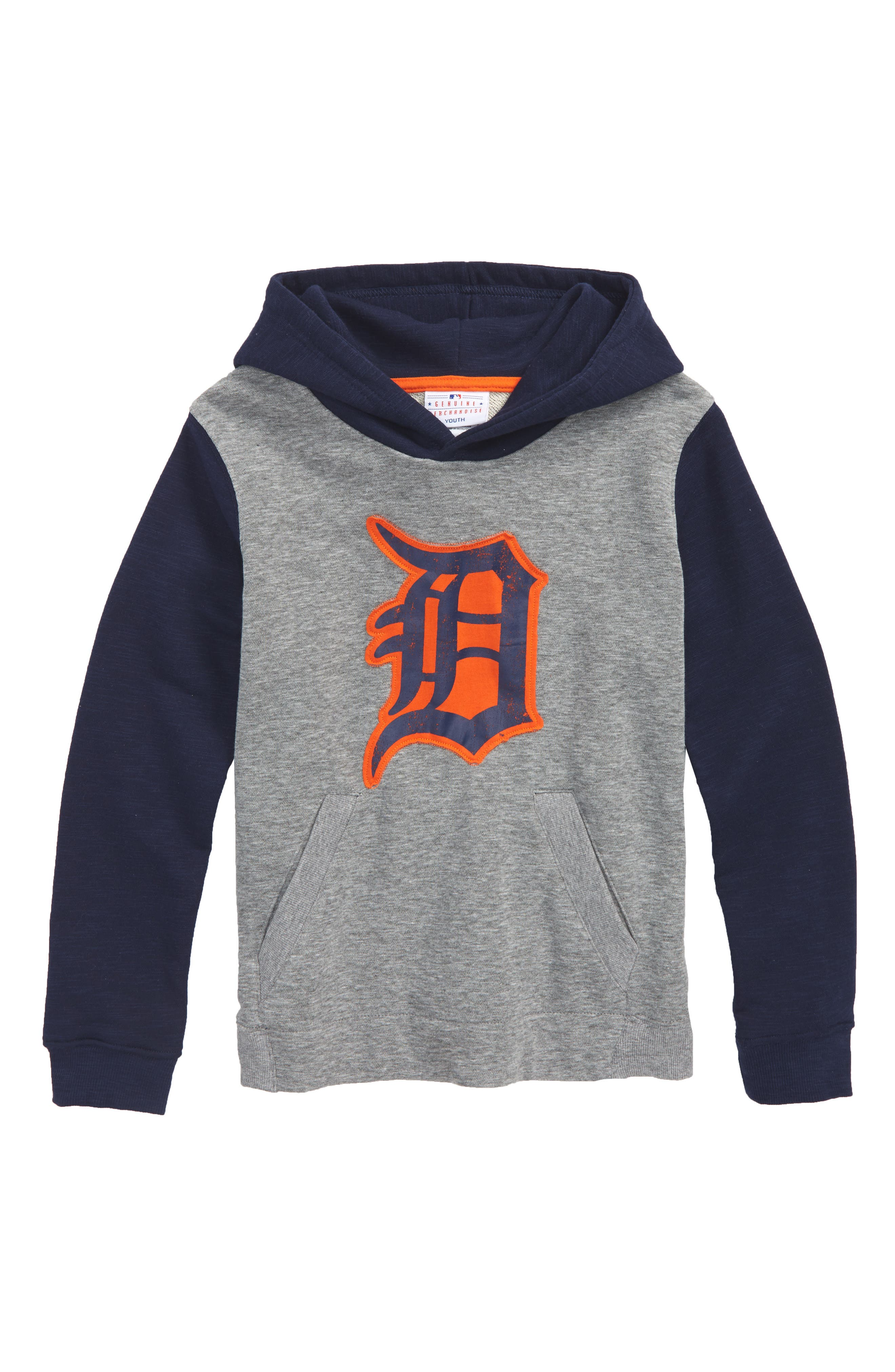New Beginnings - Detroit Tigers Pullover Hoodie,                             Main thumbnail 1, color,                             020
