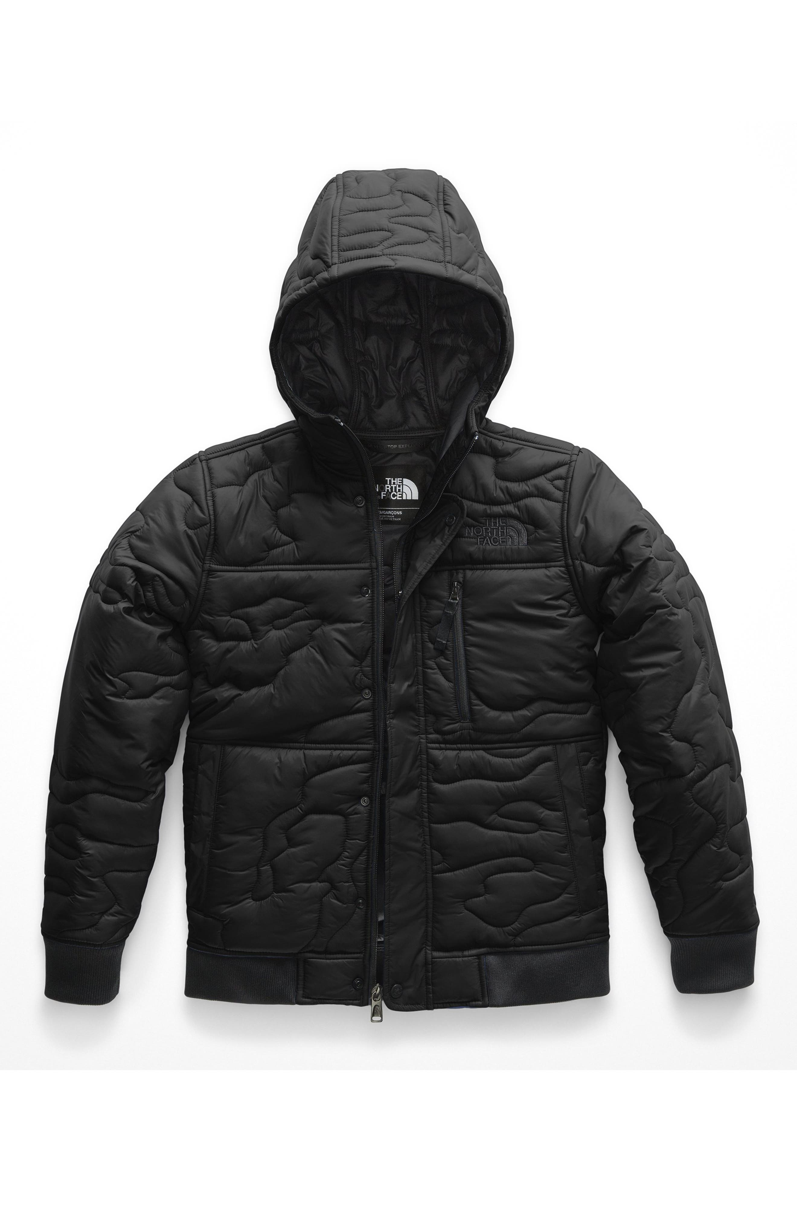 Boys The North Face Camo Quilted Water Resistant Heatseeker(TM) Insulated Hooded Jacket