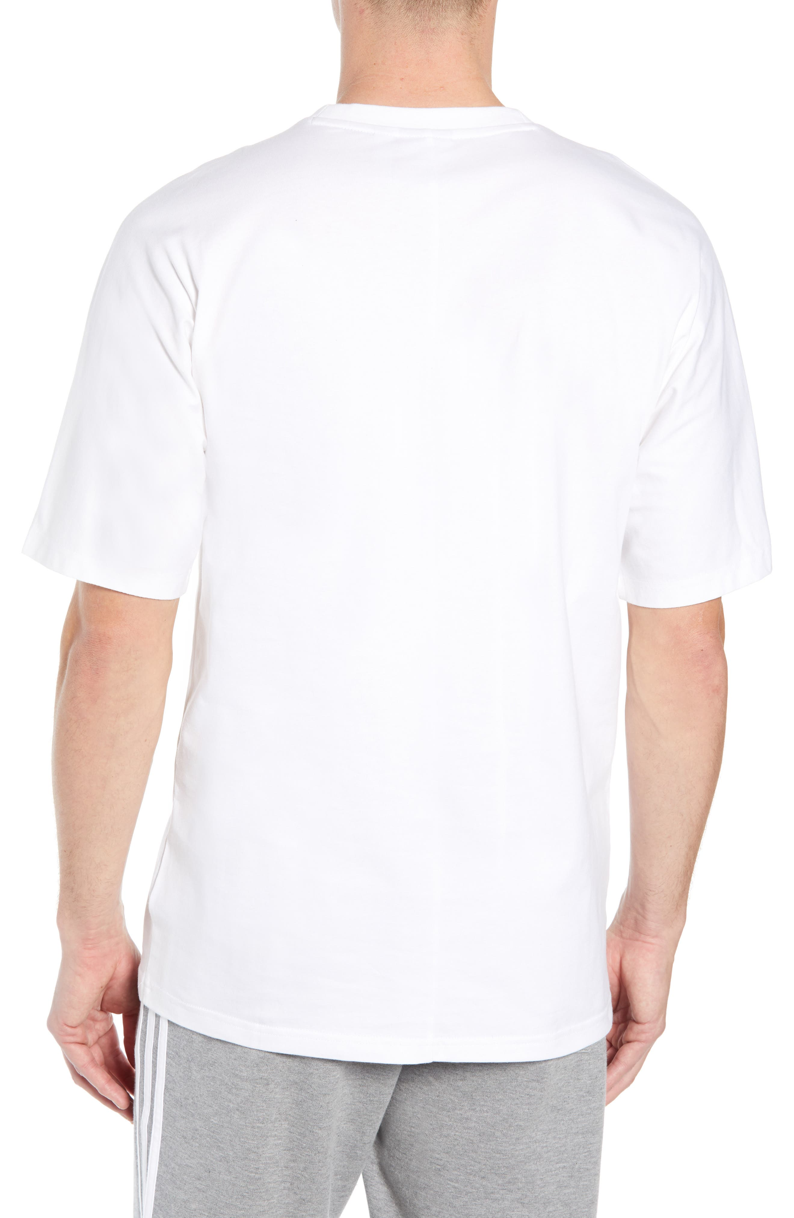 NMD Graphic T-Shirt,                             Alternate thumbnail 2, color,                             WHITE