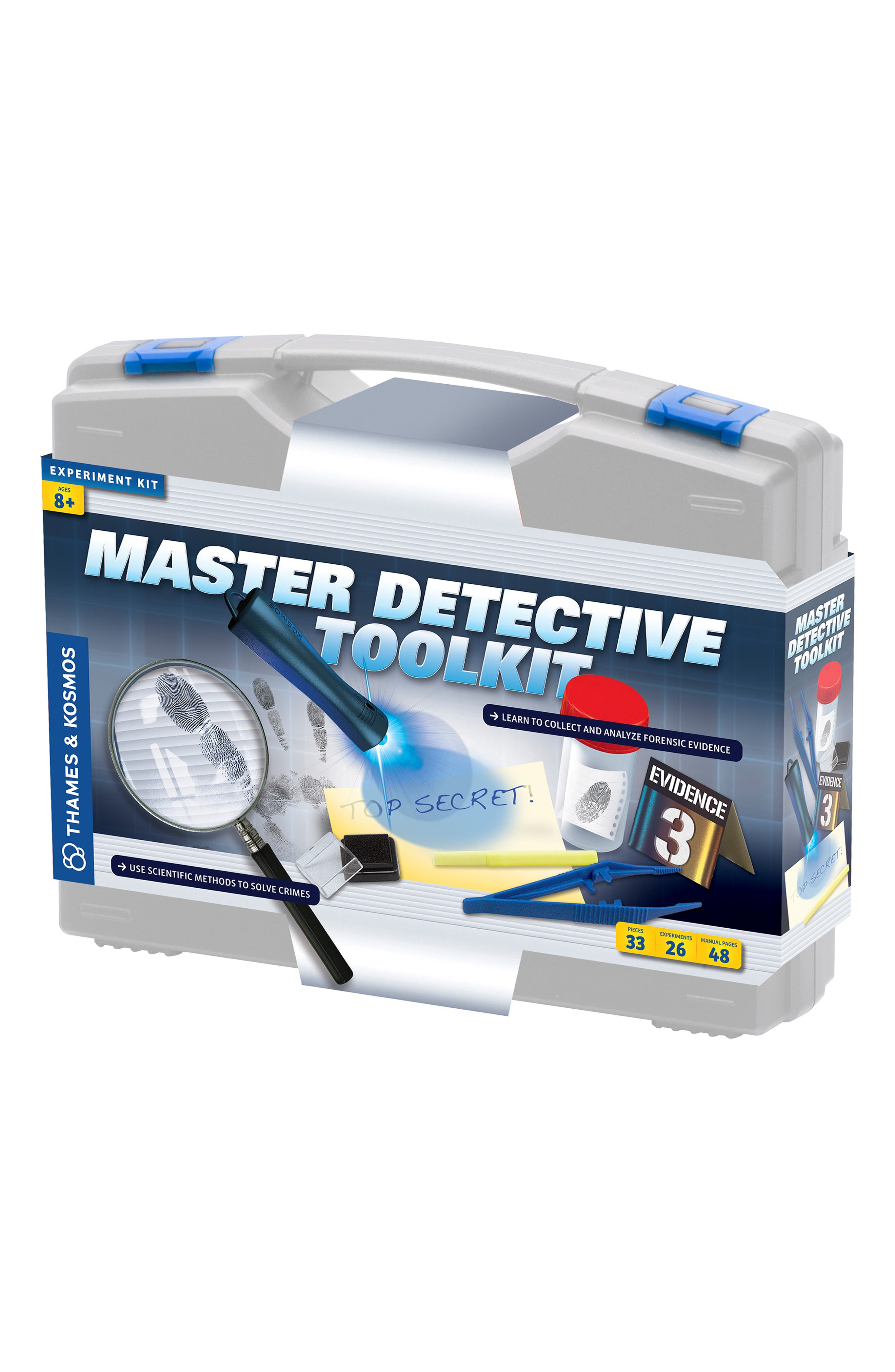 'Master Detective Toolkit' Experiment Kit,                             Alternate thumbnail 5, color,                             GREY