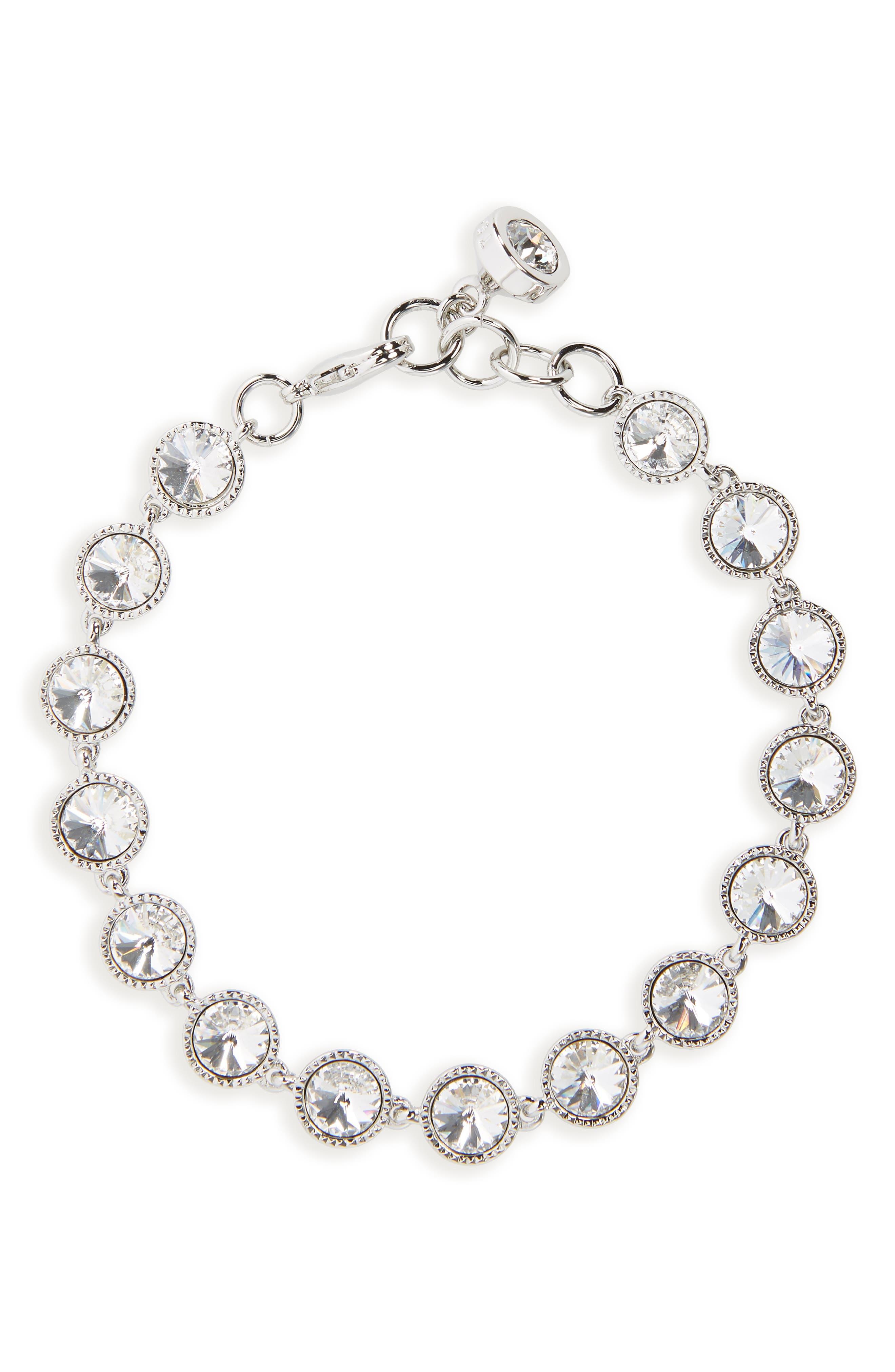 Rivoli Crystal Line Bracelet,                         Main,                         color, 045