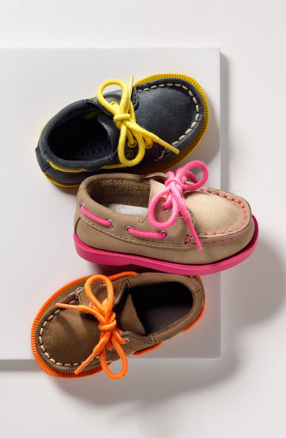 Sperry Top-Sider<sup>®</sup> Kids 'Authentic Original' Crib Shoe,                             Alternate thumbnail 5, color,