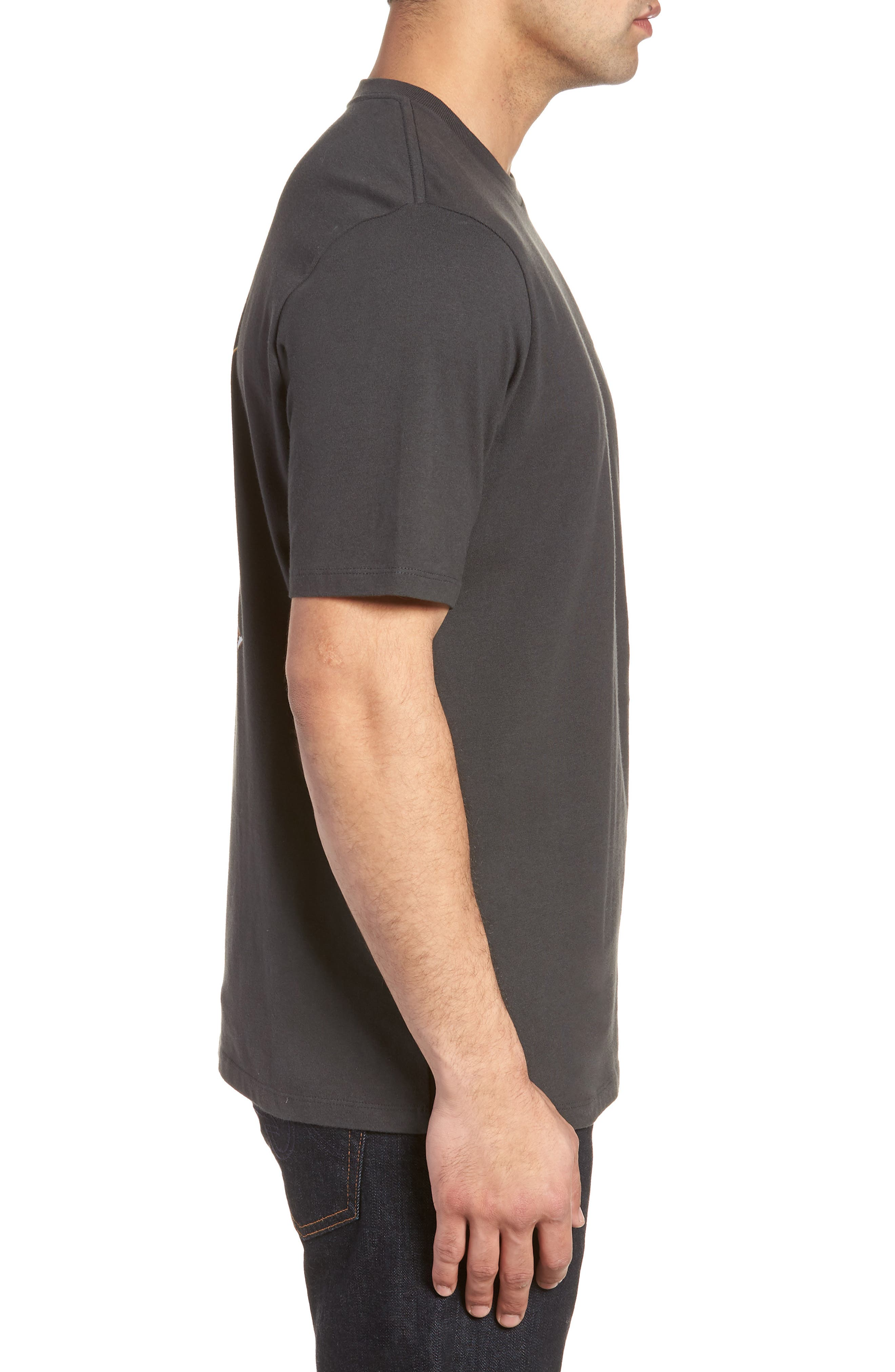 Chalk & Roll T-Shirt,                             Alternate thumbnail 3, color,                             001