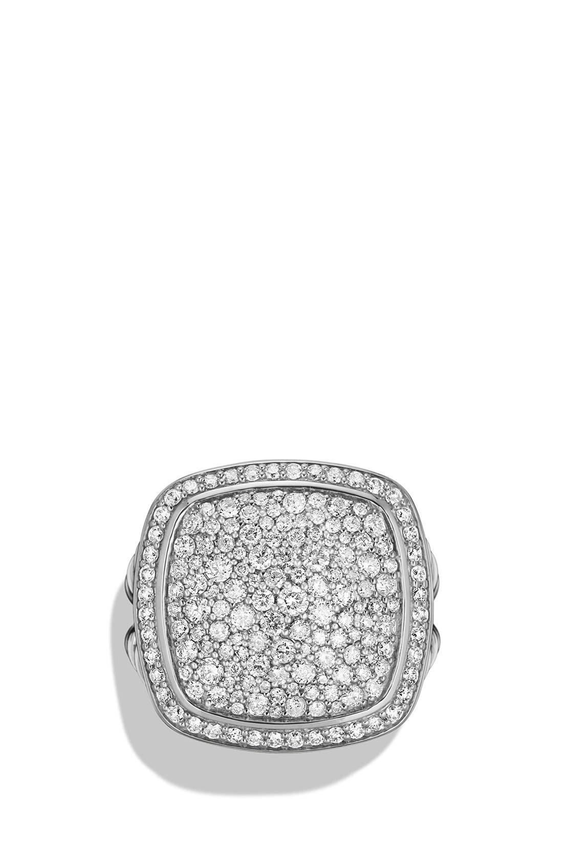 Albion Ring with Diamonds,                             Alternate thumbnail 4, color,                             DIAMOND
