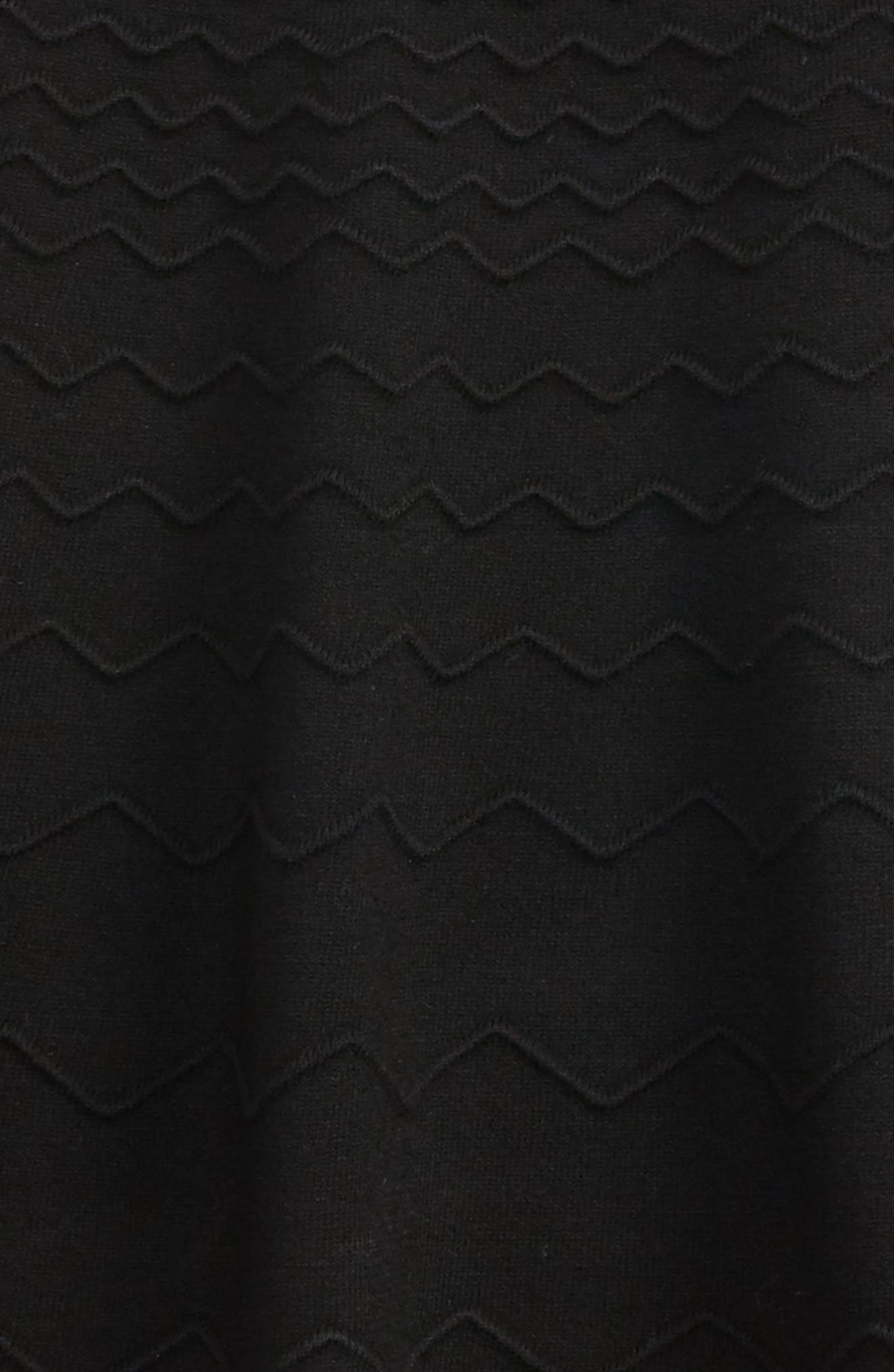 Chevron Skirt,                             Alternate thumbnail 2, color,                             001