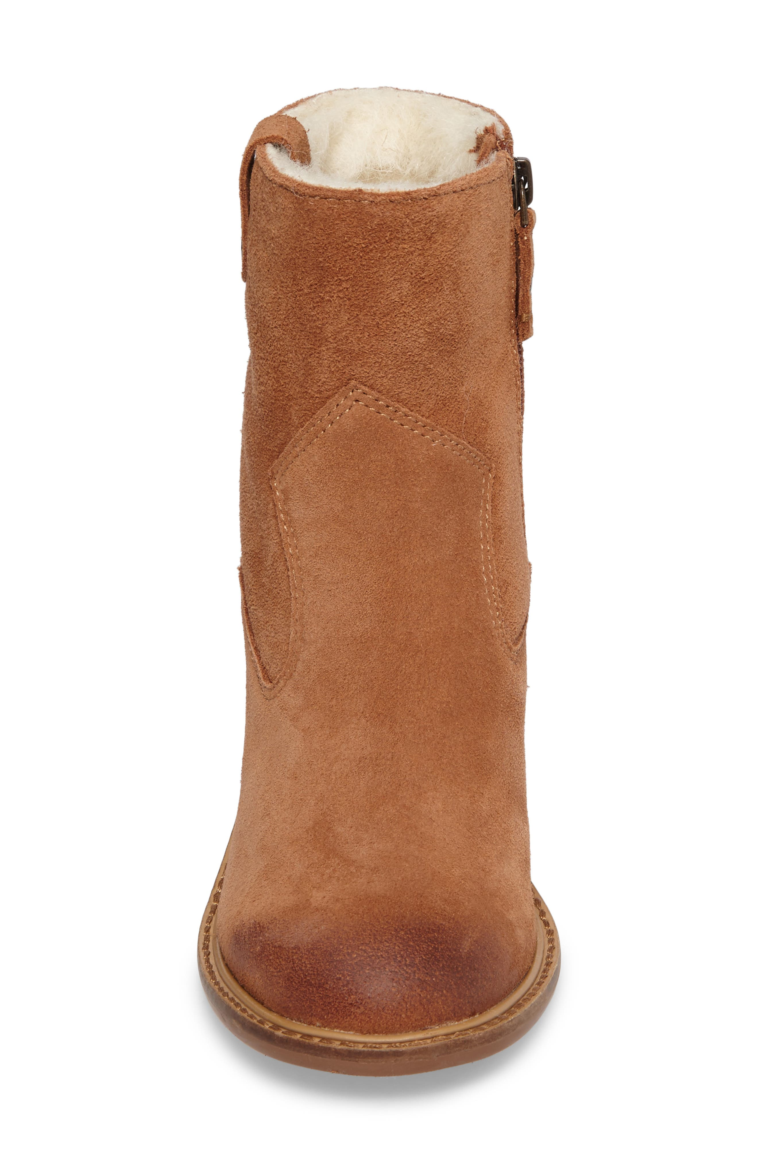 Legion Bootie with Faux Shearling Lining,                             Alternate thumbnail 8, color,