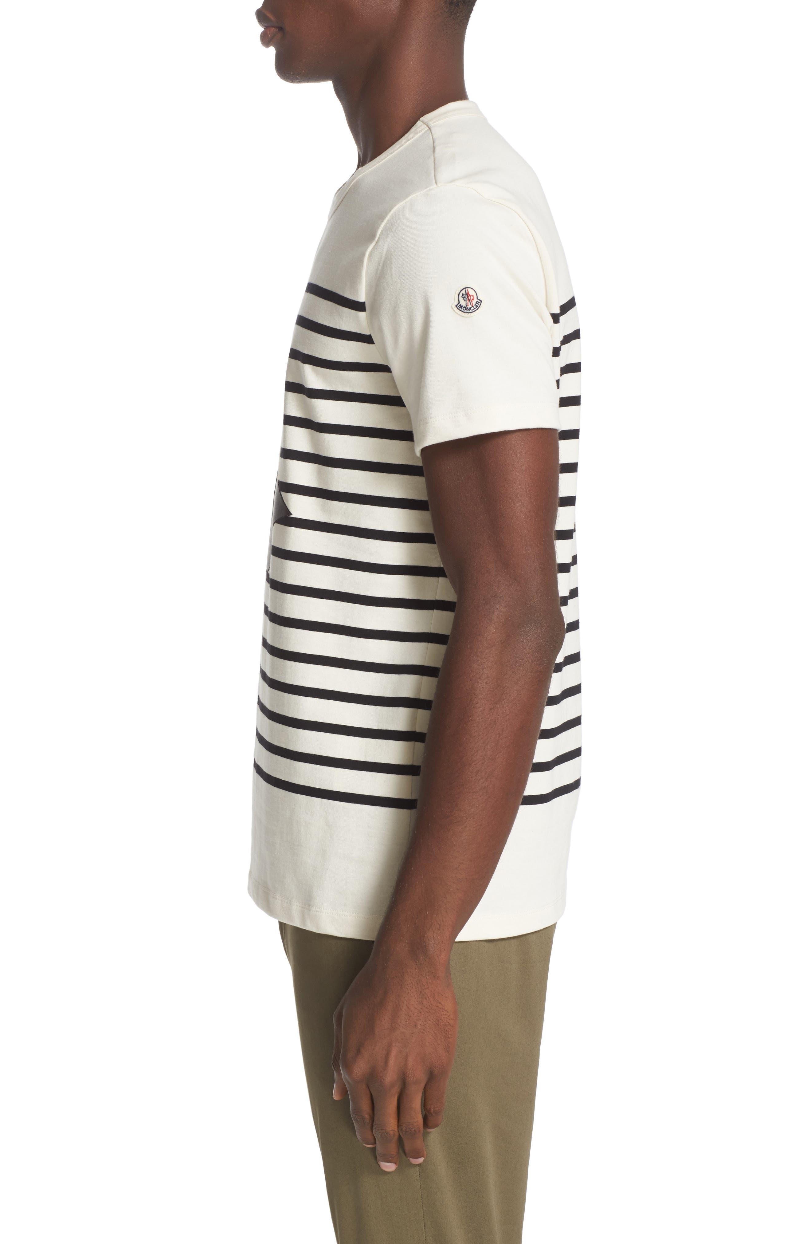 Stripe Graphic T-Shirt,                             Alternate thumbnail 3, color,                             900