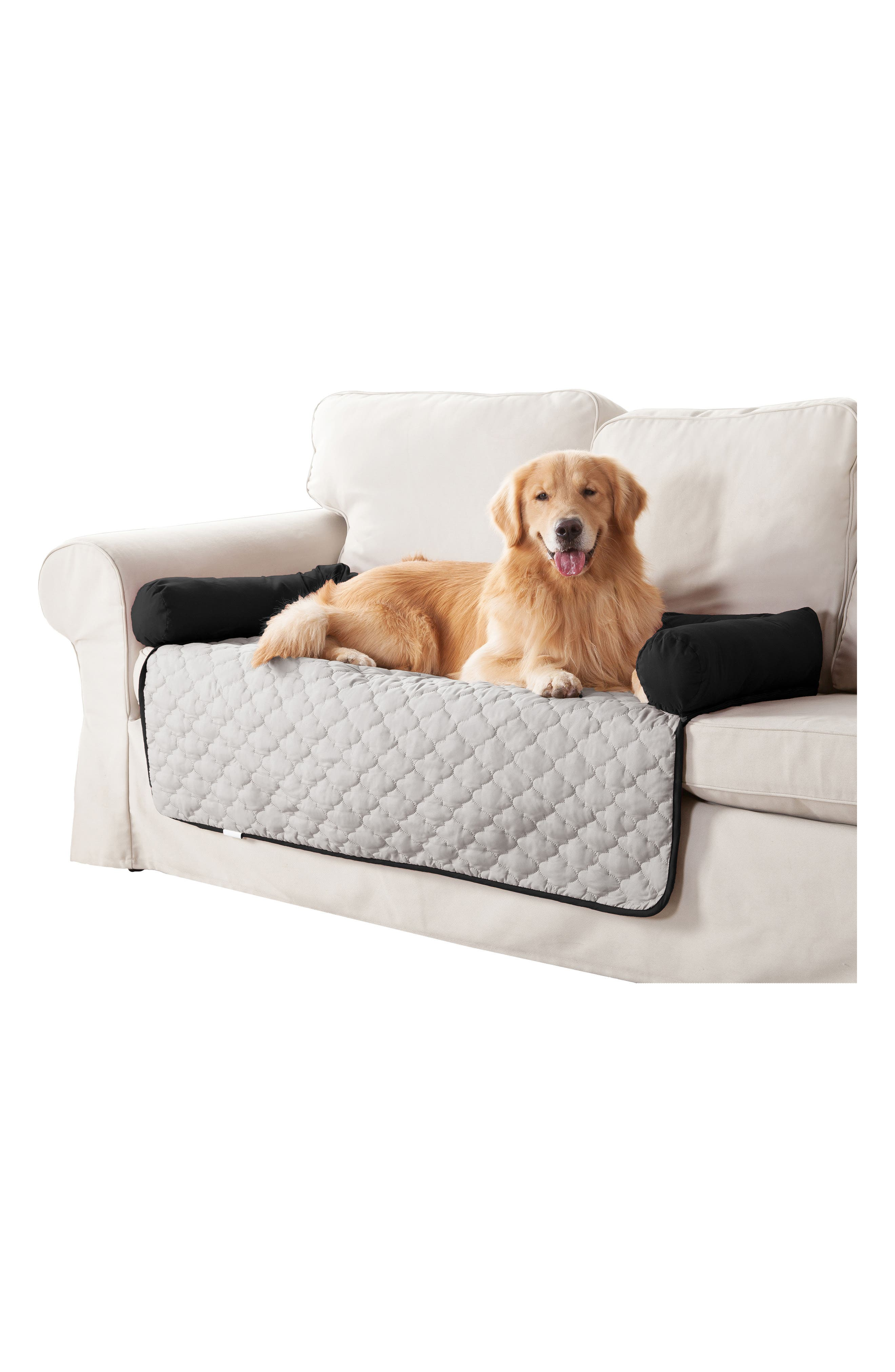 Wubba Reversible Pet Bed,                             Alternate thumbnail 3, color,                             001