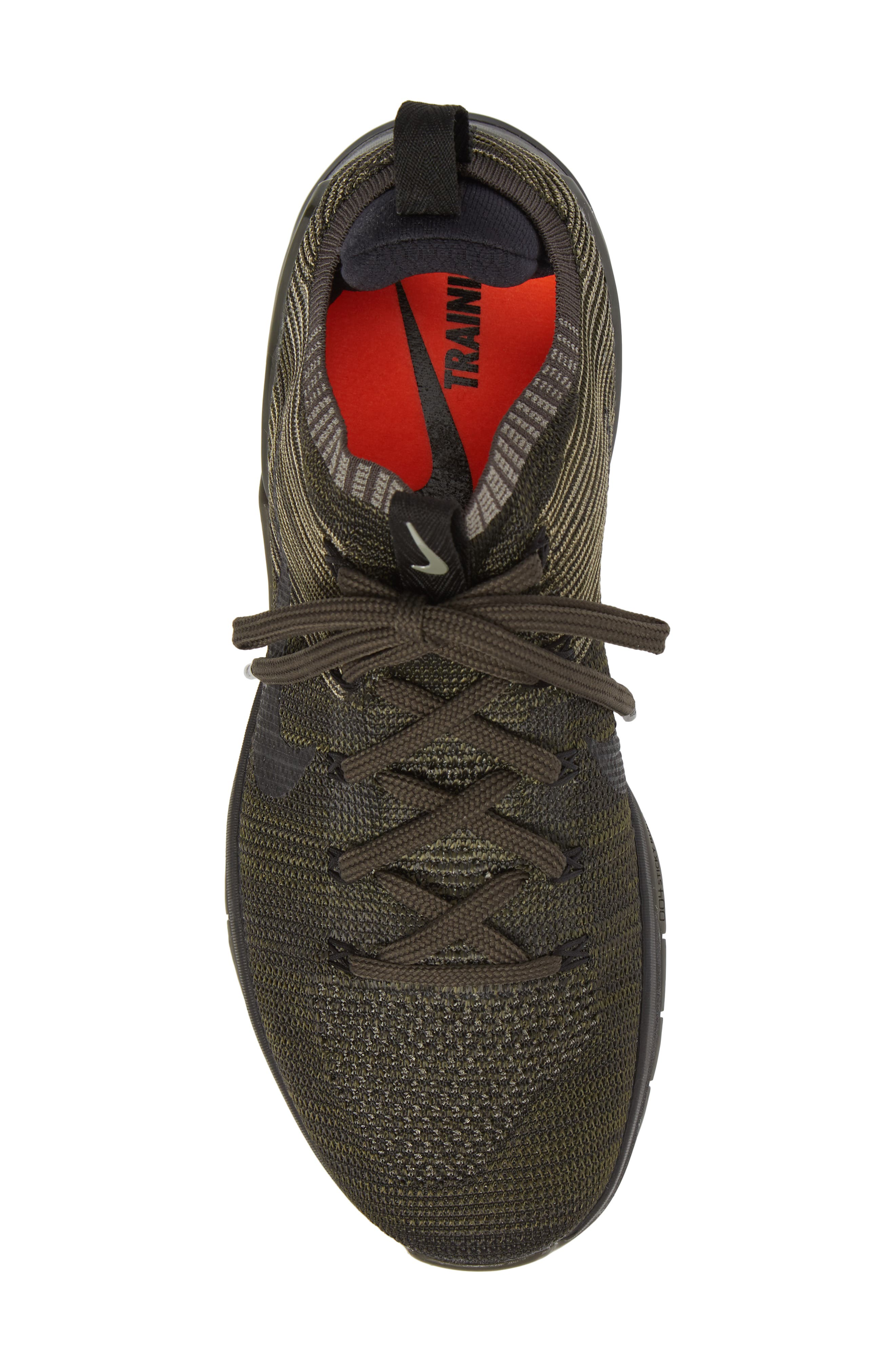 Metcon DSX Flyknit 2 Training Shoe,                             Alternate thumbnail 5, color,                             DARK STUCCO/ BLACK/ NEWSPRINT