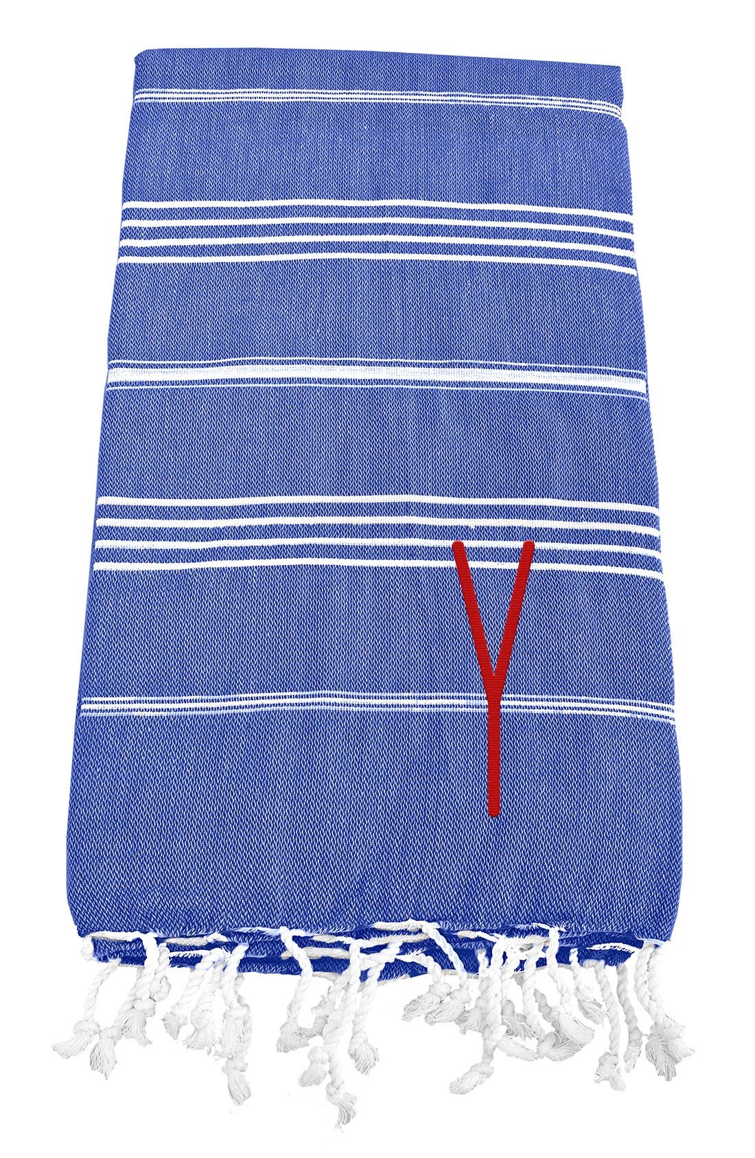 Monogram Turkish Cotton Towel,                             Main thumbnail 81, color,