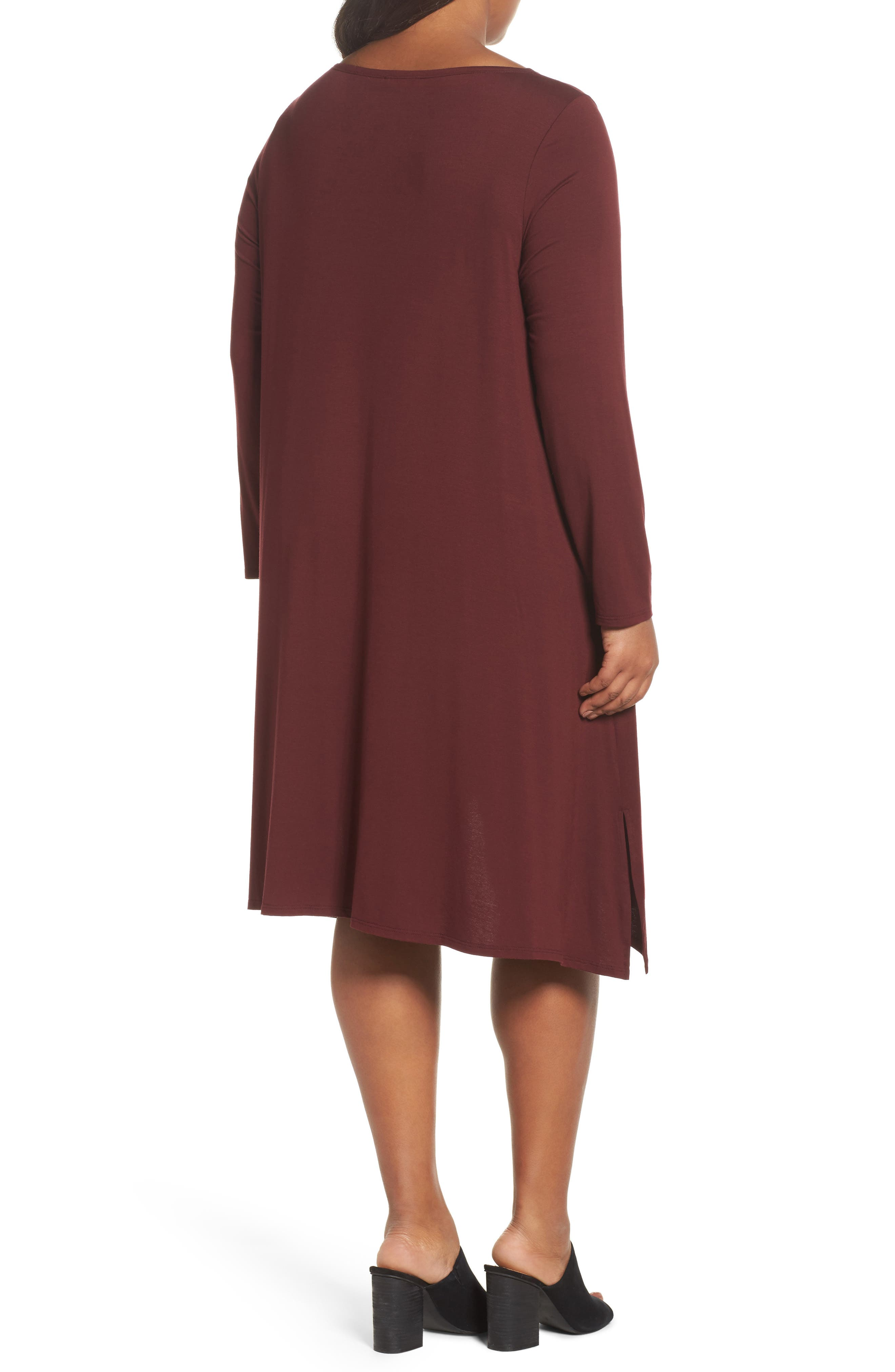 Jersey Tunic Dress,                             Alternate thumbnail 8, color,