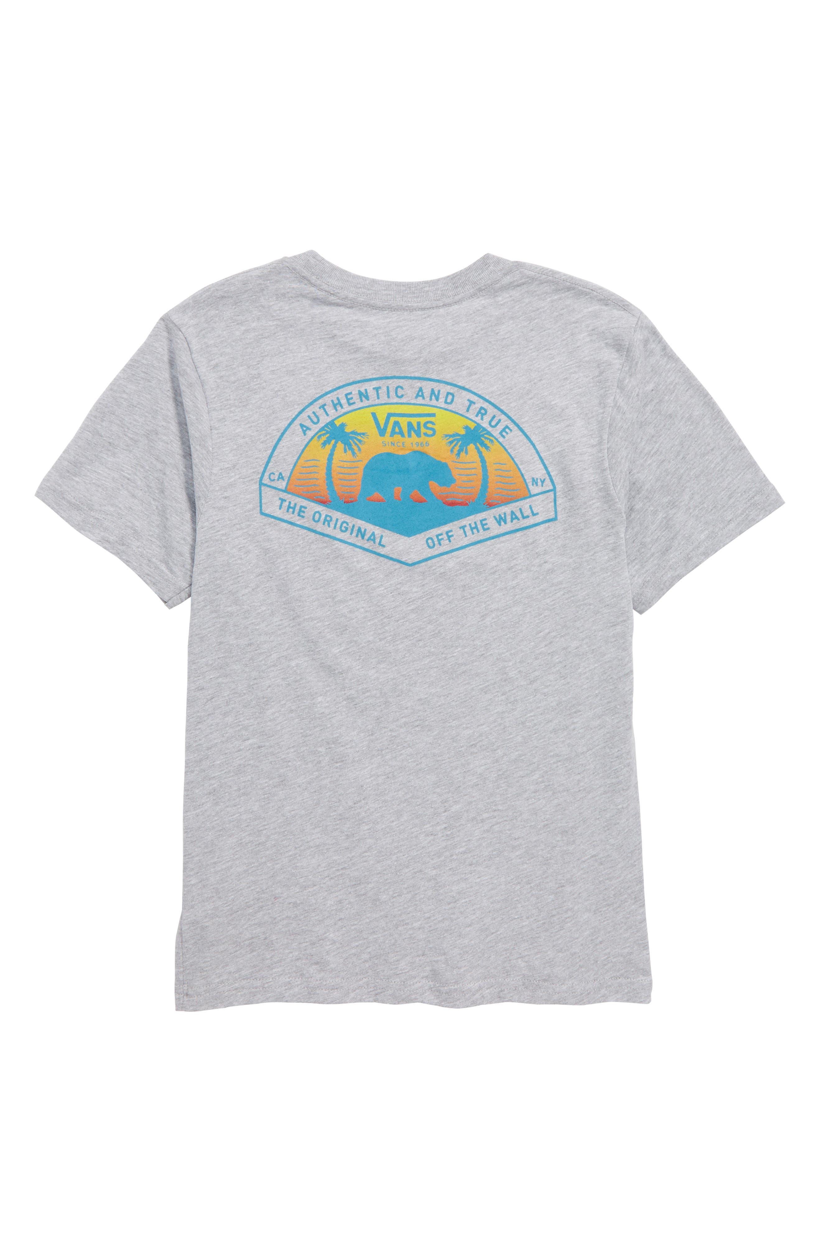 Grizzly Beach Graphic T-Shirt,                             Alternate thumbnail 3, color,