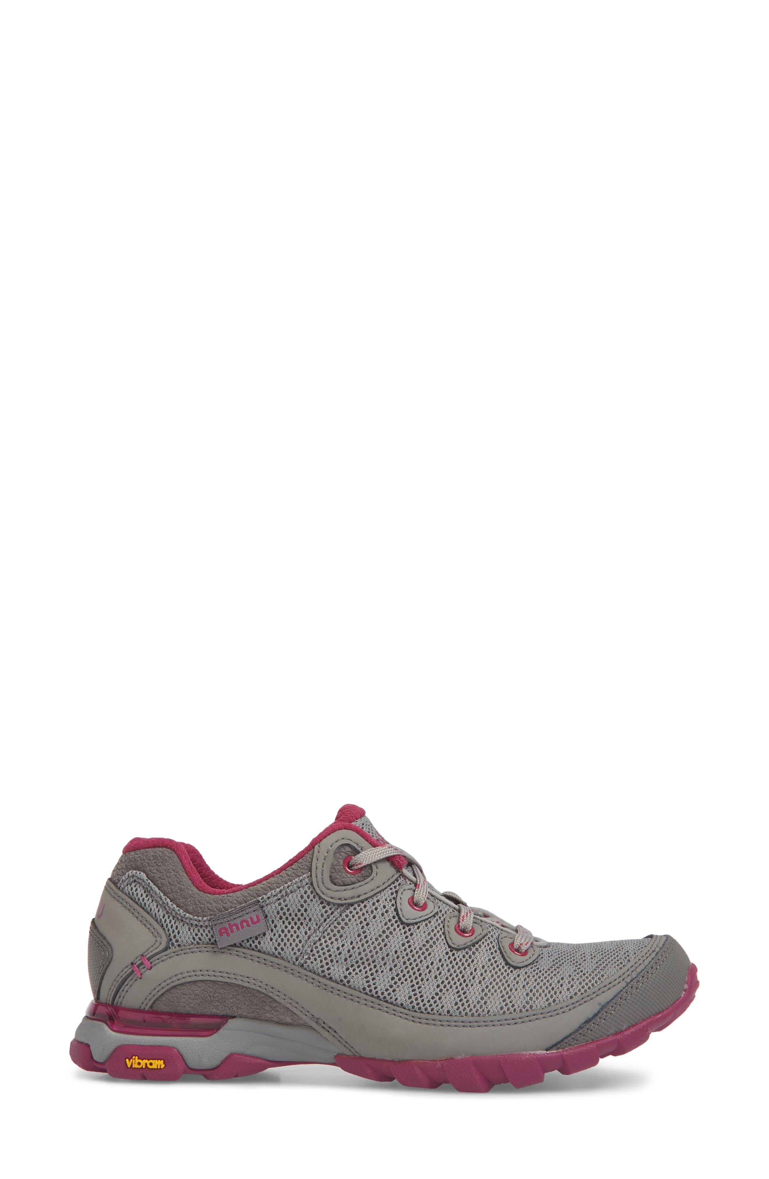 Ahnu by Teva Sugarpine II Air Mesh Hiking Waterproof Sneaker,                             Alternate thumbnail 3, color,                             WILD DOVE