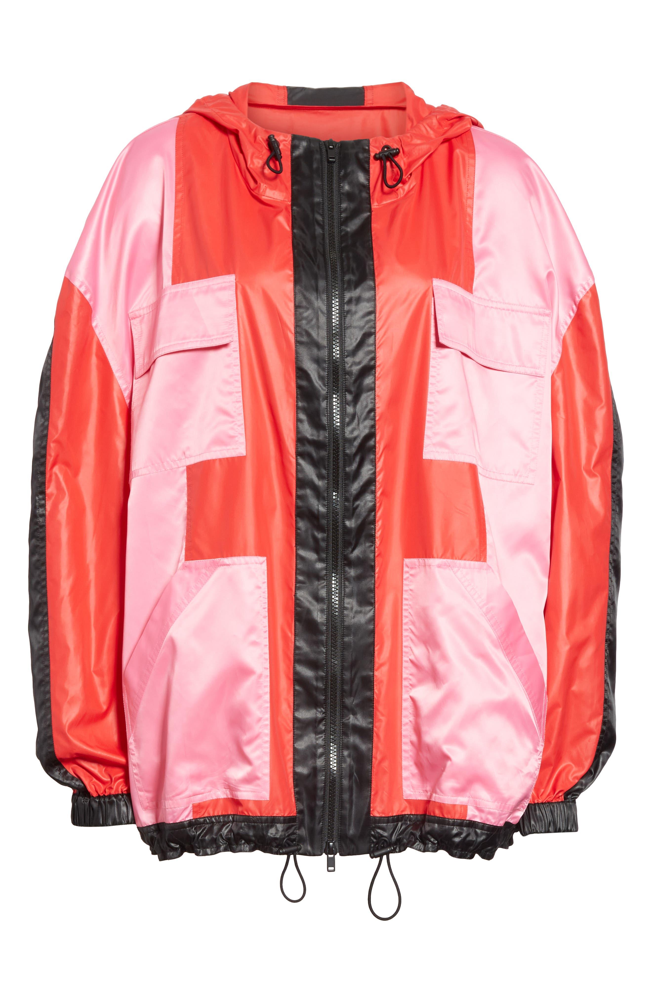ROBERT RODRIGUEZ,                             Celeste Colorblock Jacket,                             Alternate thumbnail 5, color,                             600