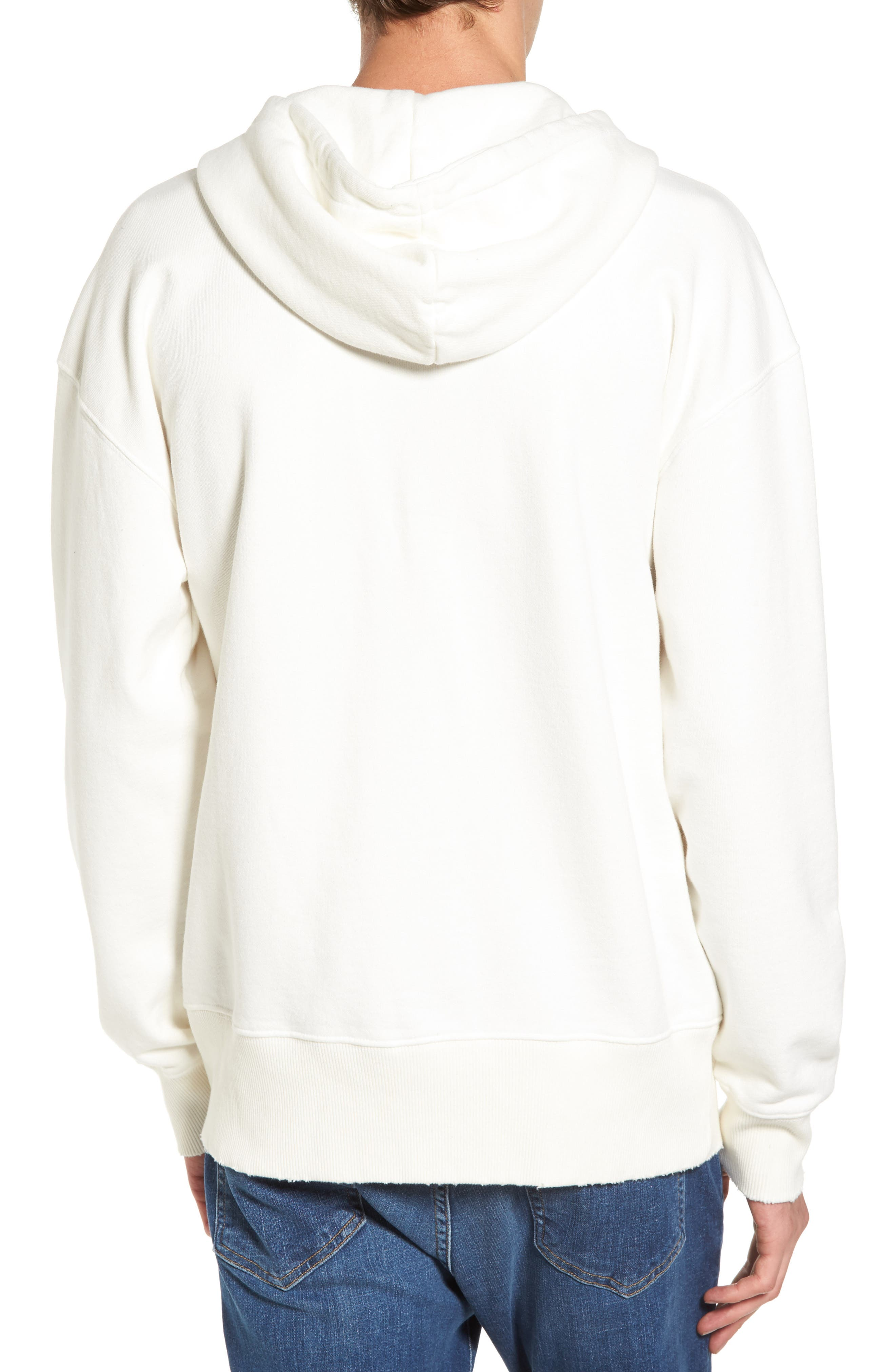 French Terry Hoodie,                             Alternate thumbnail 4, color,