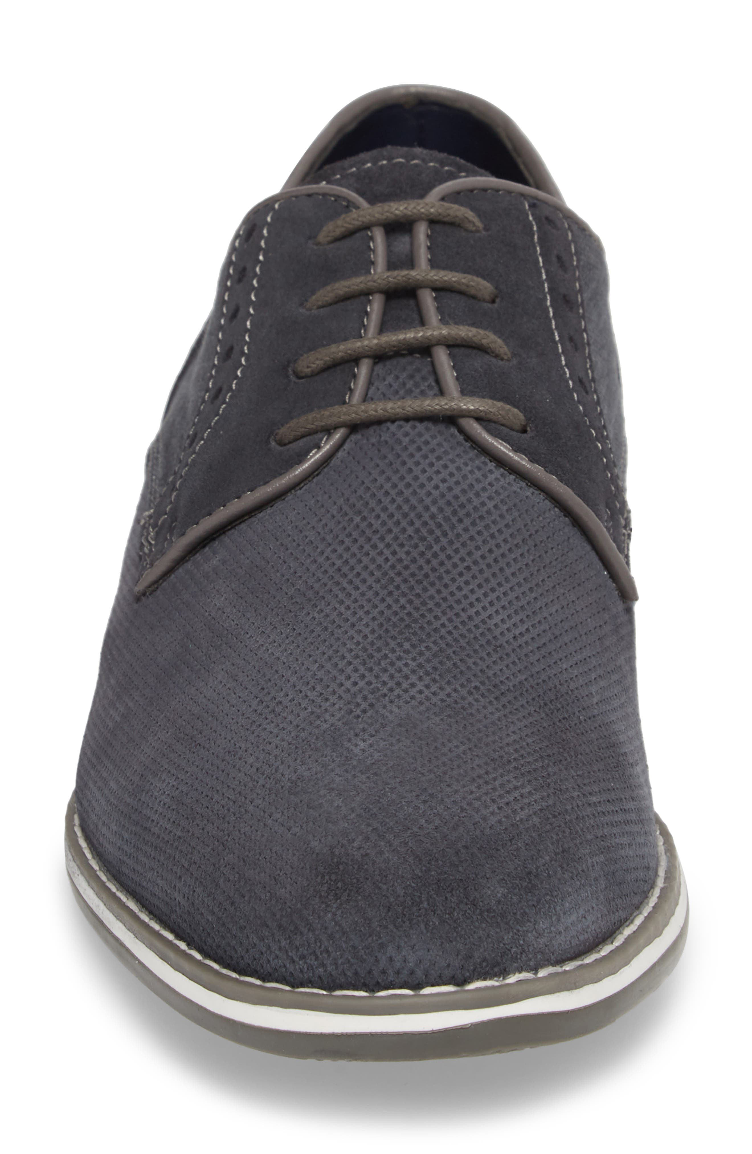 Weiser Lace-up Derby,                             Alternate thumbnail 4, color,                             NAVY