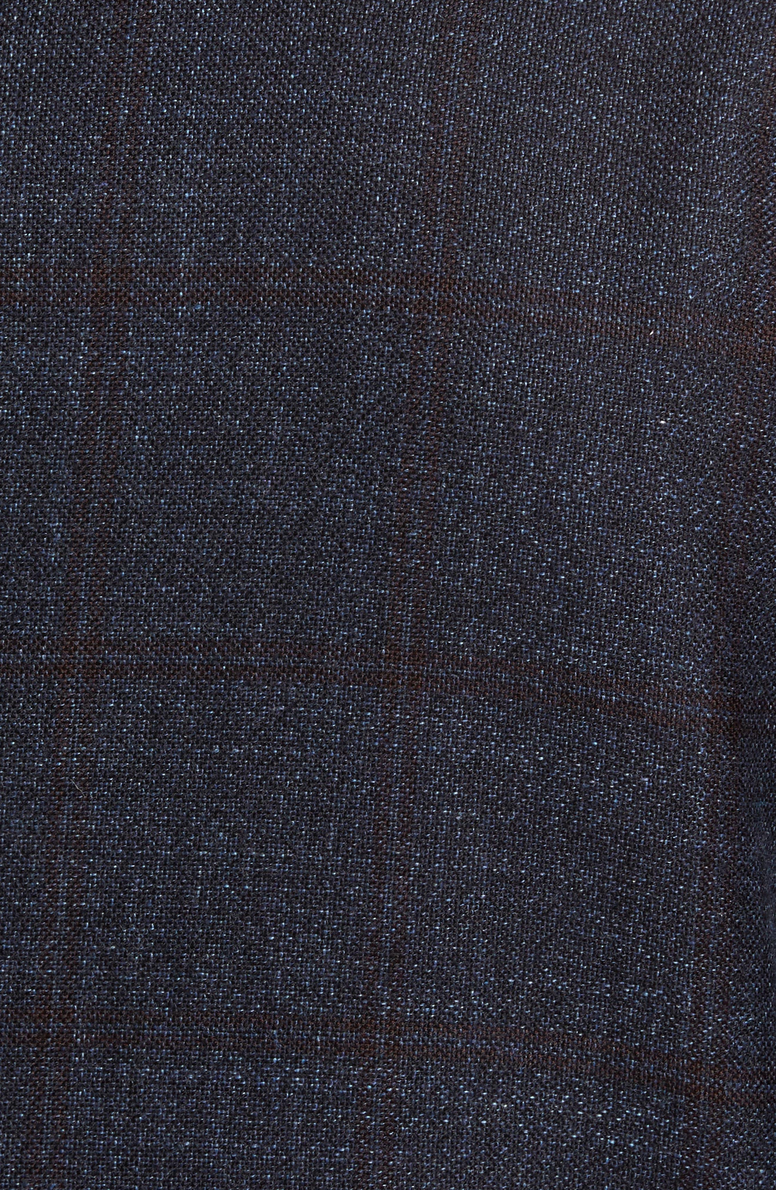 Glenside Wool Blend Sport Coat,                             Alternate thumbnail 6, color,                             411