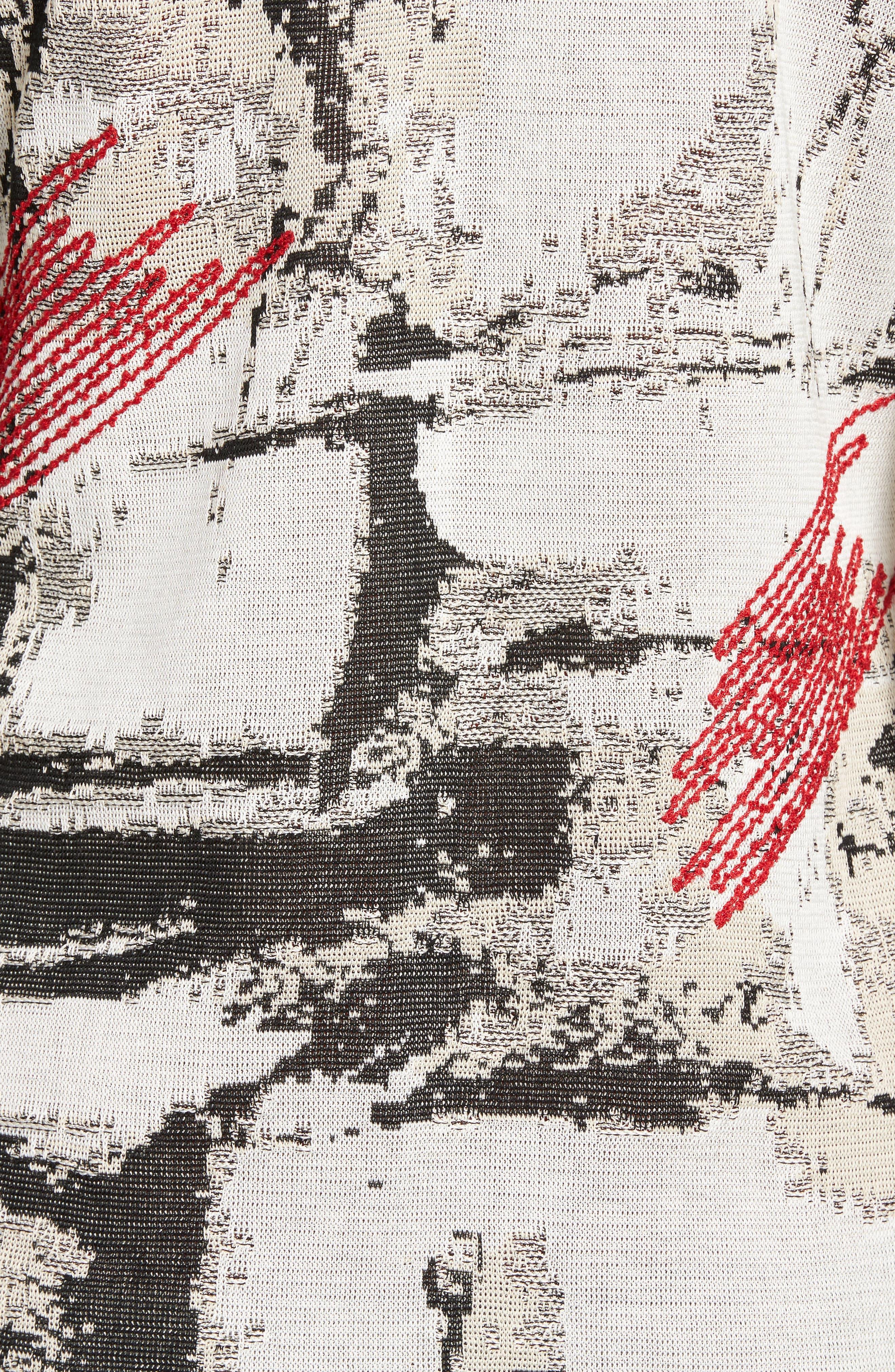 Three-Quarter Sleeve Jacket,                             Alternate thumbnail 5, color,                             160