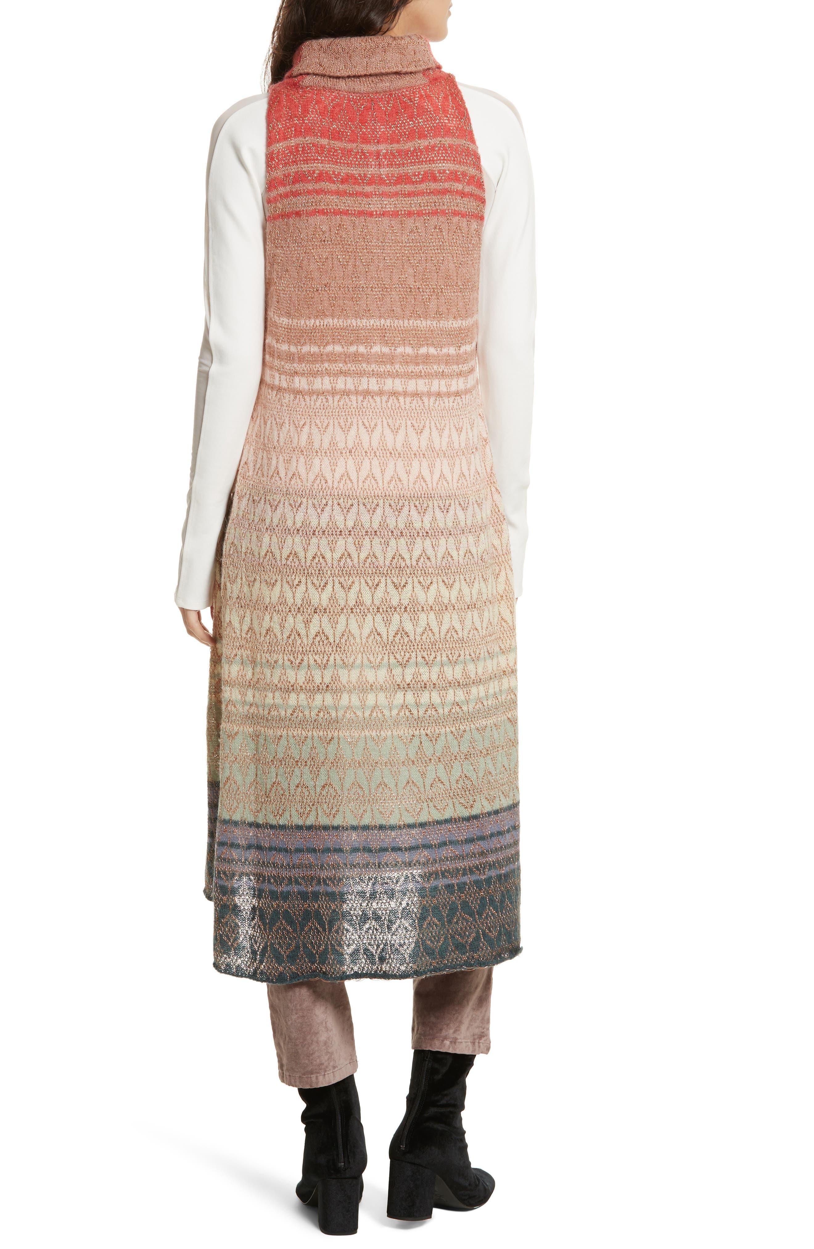 Rainbow Tunic Dress,                             Alternate thumbnail 2, color,                             907