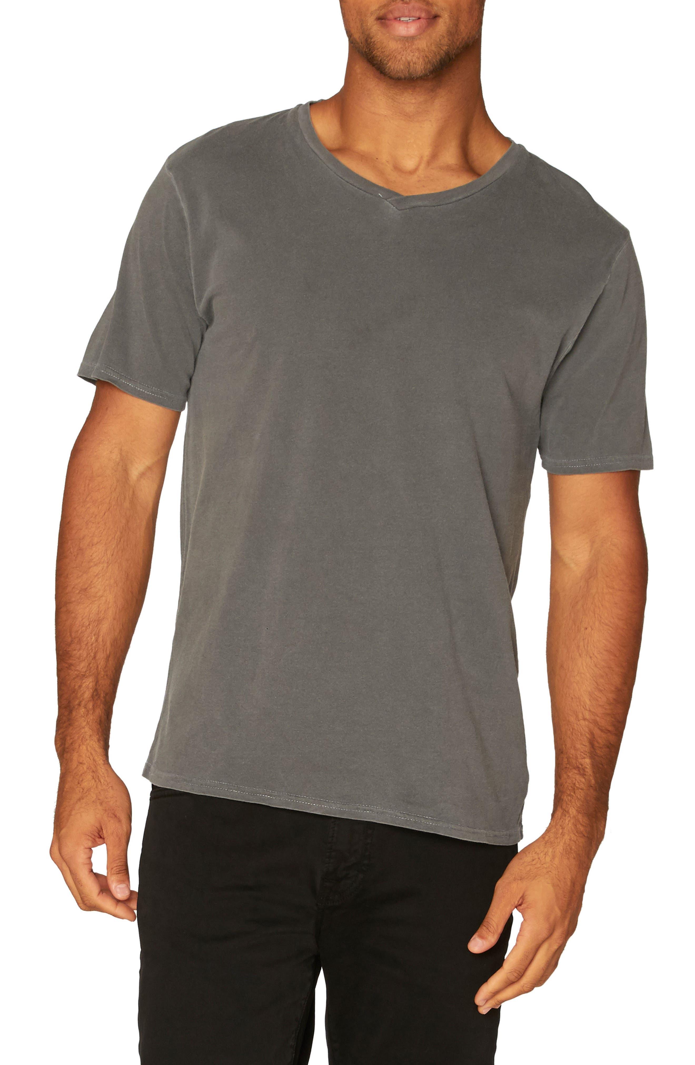 Standard V-Neck T-Shirt,                             Main thumbnail 1, color,                             020