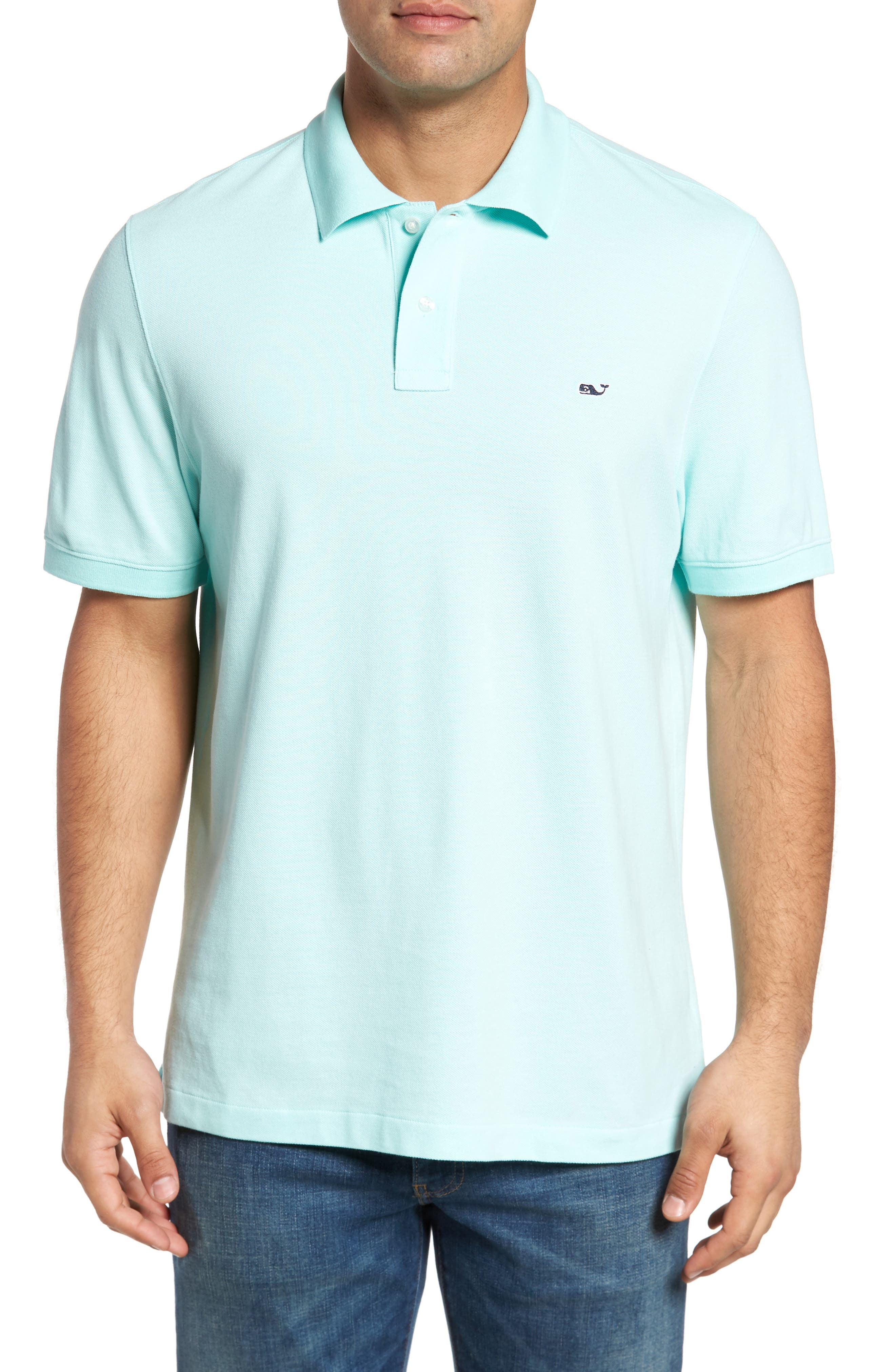 Classic Piqué Knit Polo,                             Alternate thumbnail 2, color,                             446