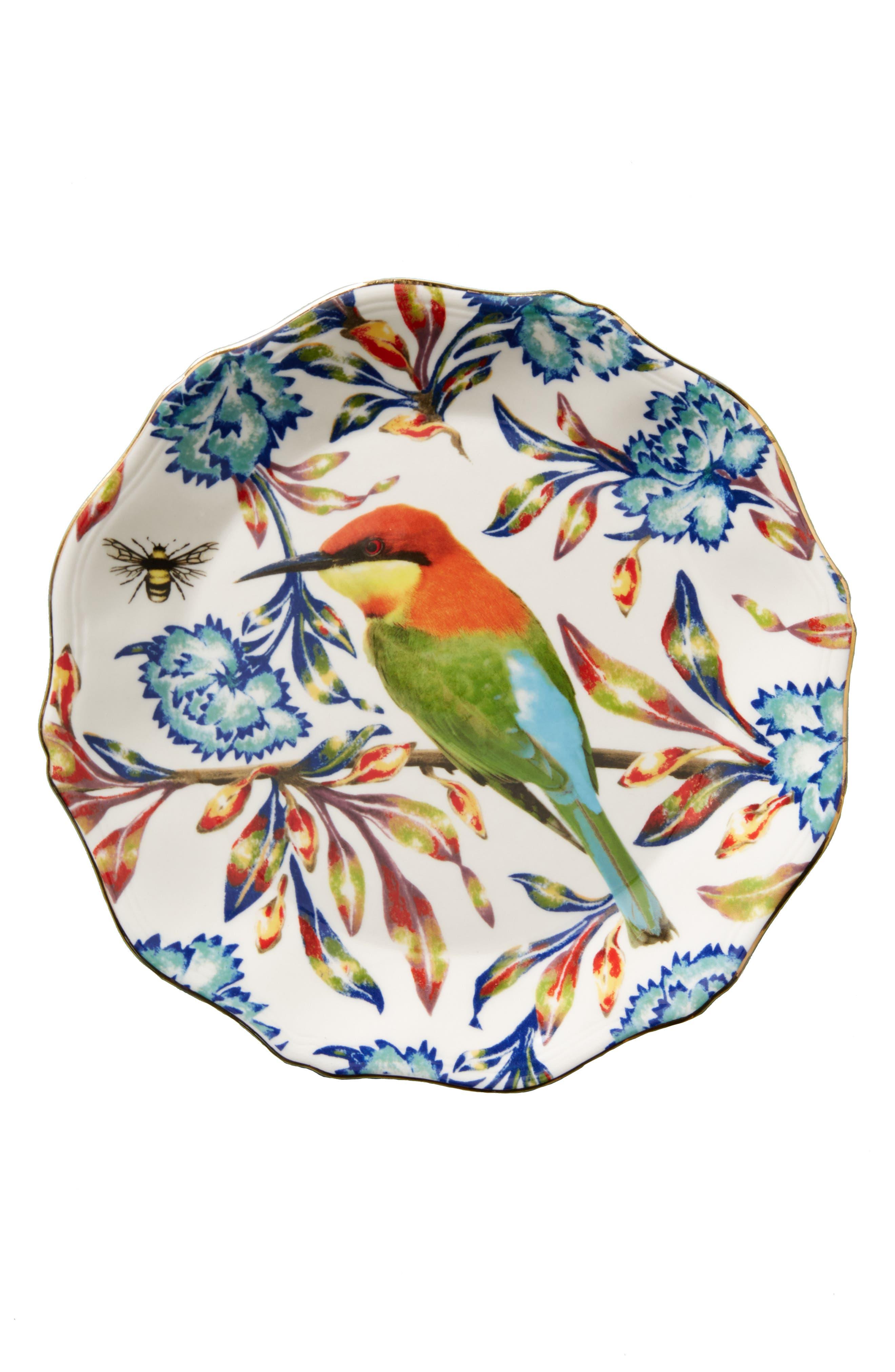 Nature Table Dessert Plate,                             Alternate thumbnail 2, color,                             400
