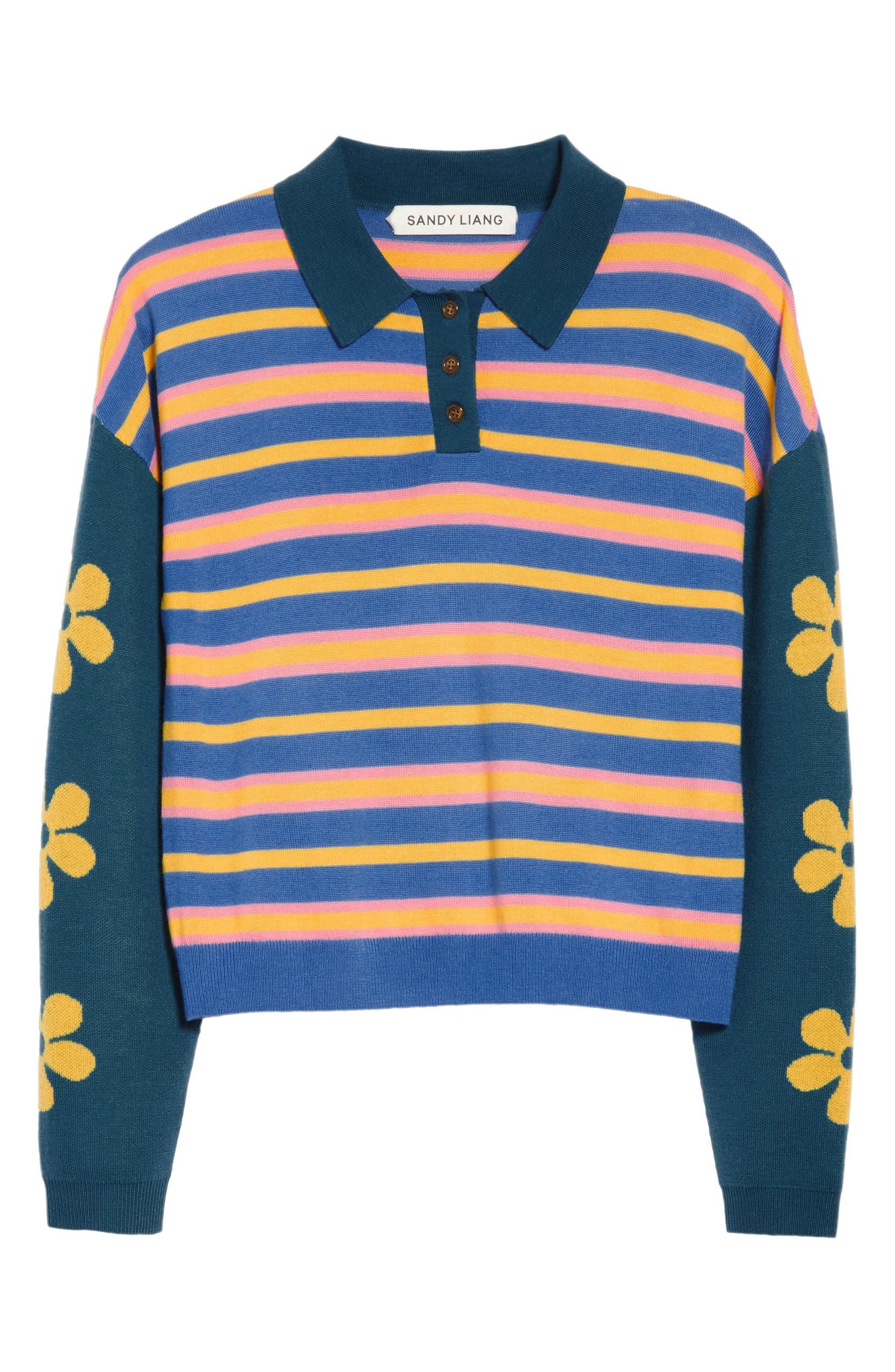 Sandy Liang Spongebob Polo Sweater Nordstrom