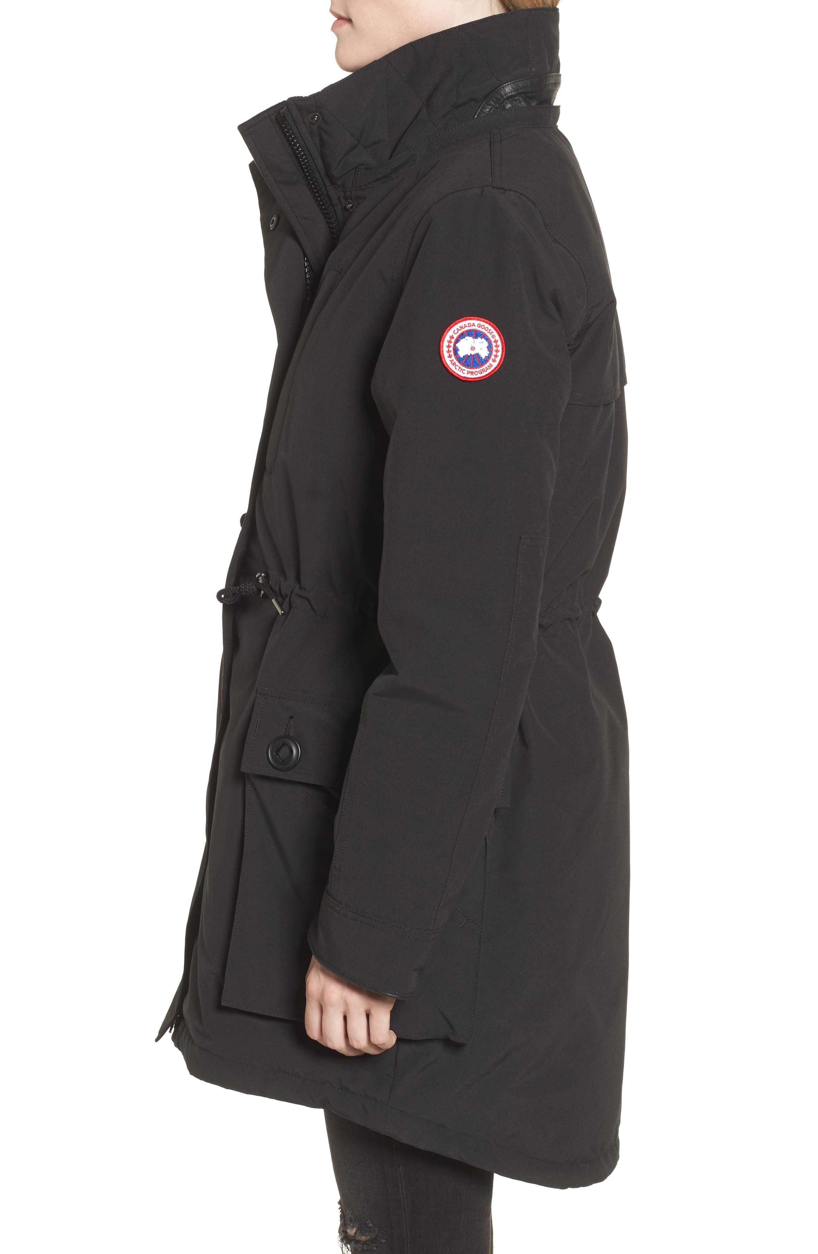 Perley Waterproof 675-Fill-Power Down 3-in-1 Parka,                             Alternate thumbnail 3, color,                             BLACK