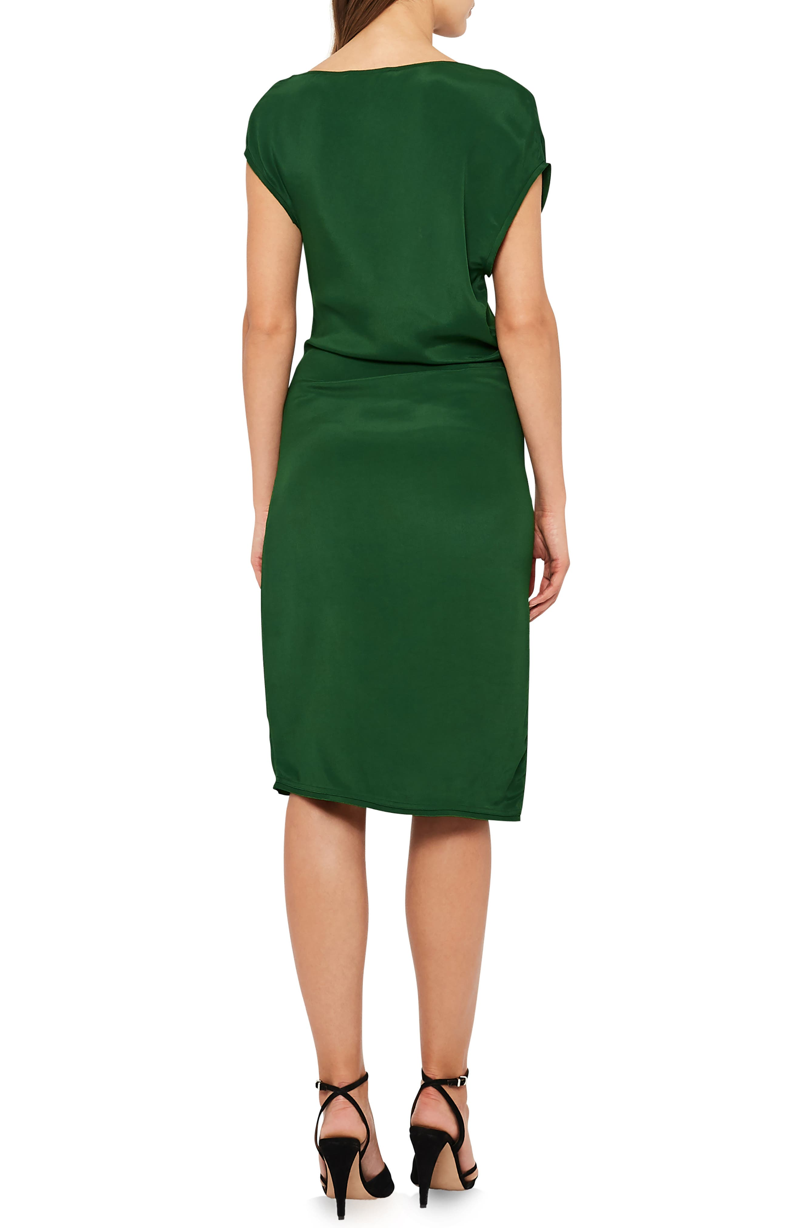 Lore Asymmetrical Cap Sleeve Dress,                             Alternate thumbnail 2, color,                             322