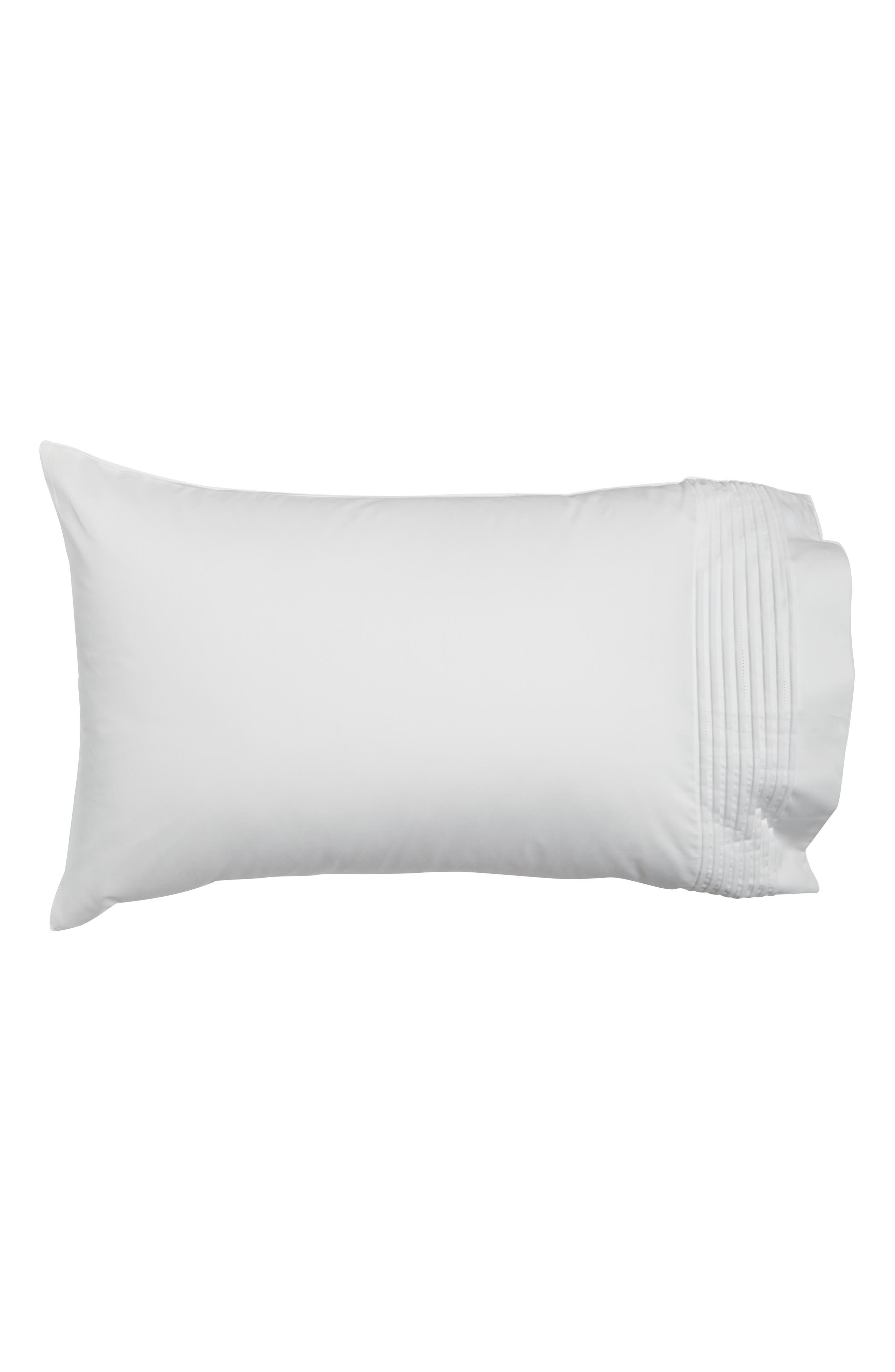 Mirrored Square 400 Thread Count Pillowcases,                             Main thumbnail 1, color,                             100