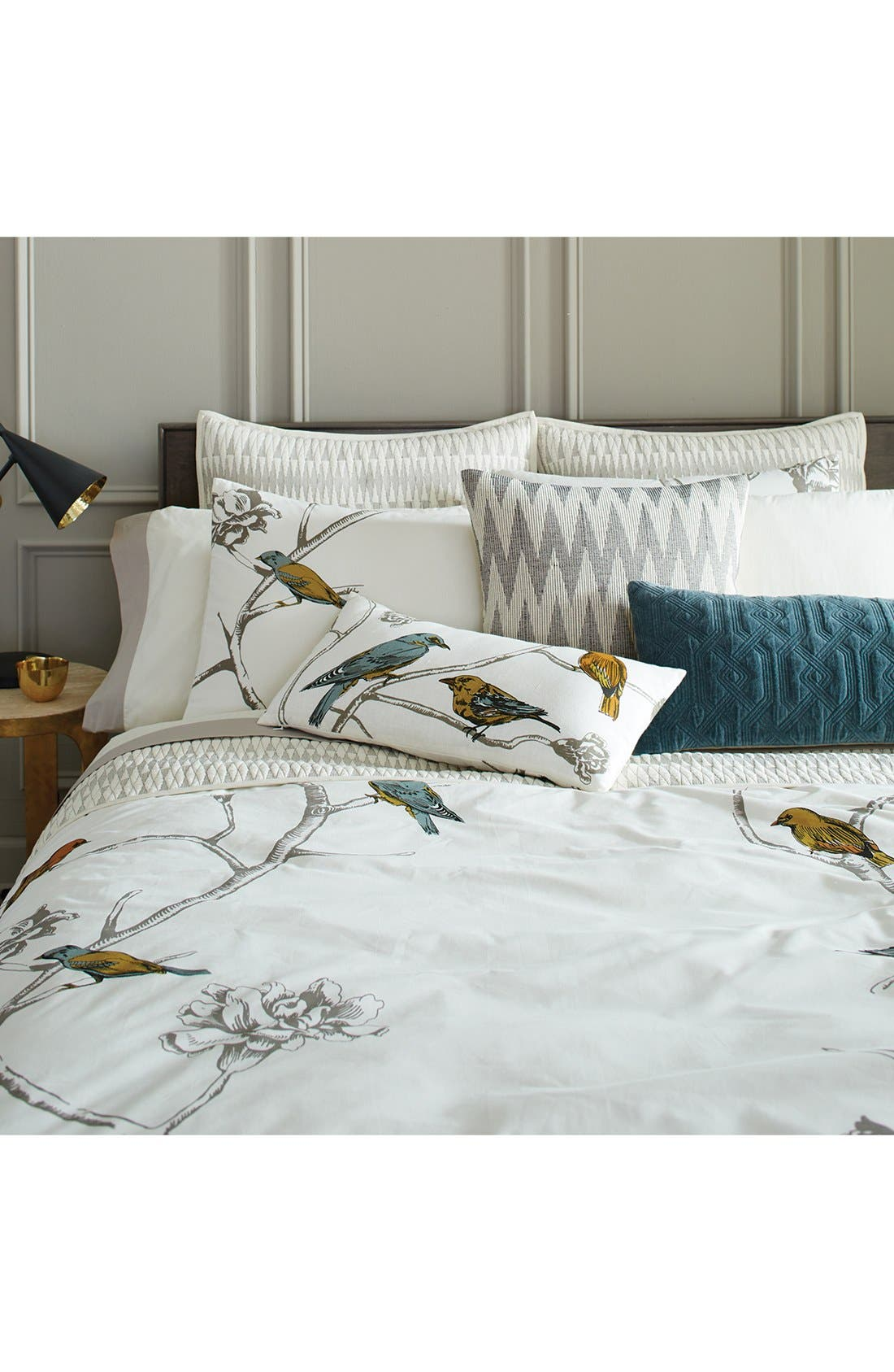 'Chinoiserie' Duvet Cover,                         Main,                         color, 100
