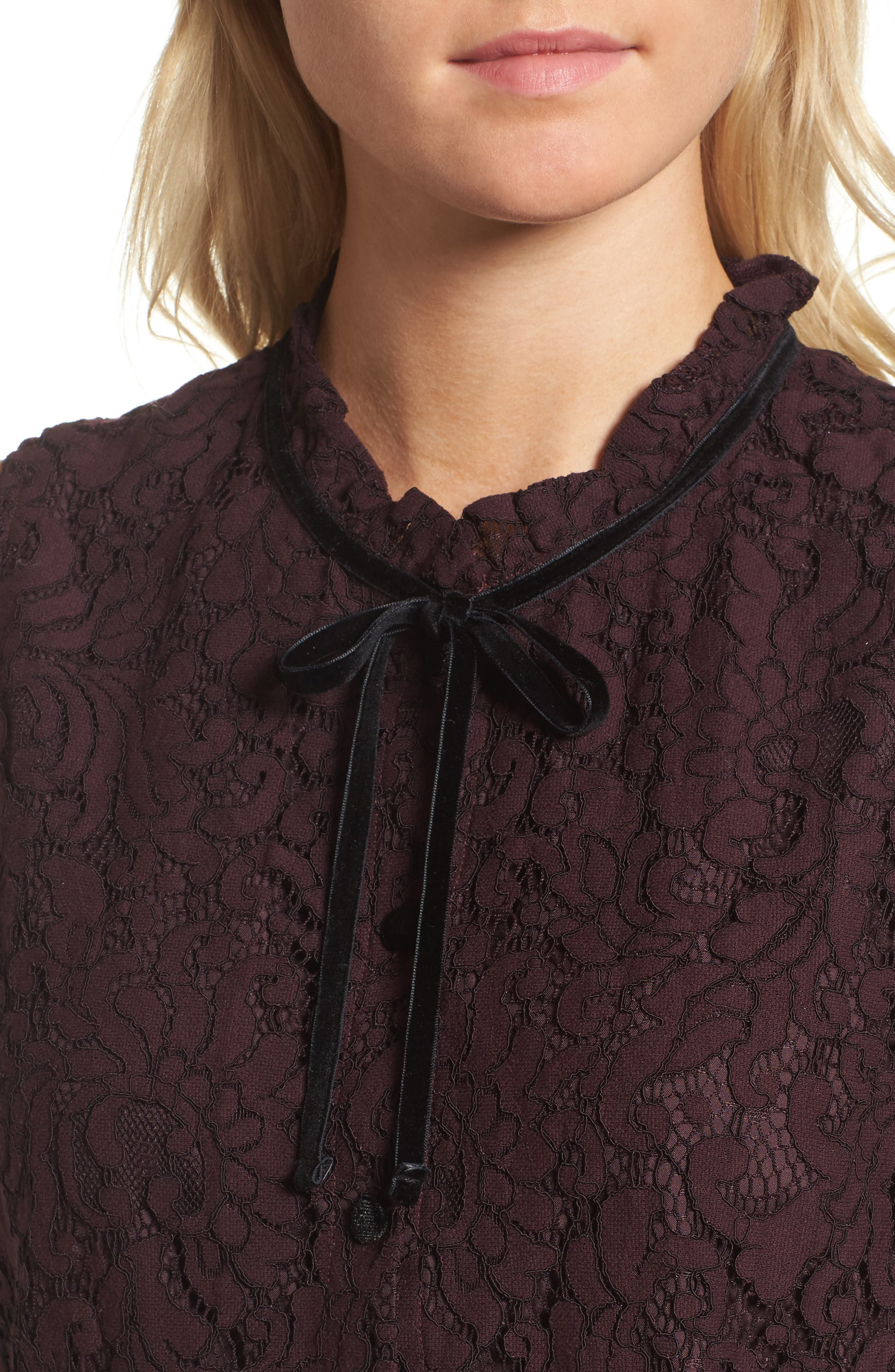 Isra Lace Top,                             Alternate thumbnail 7, color,