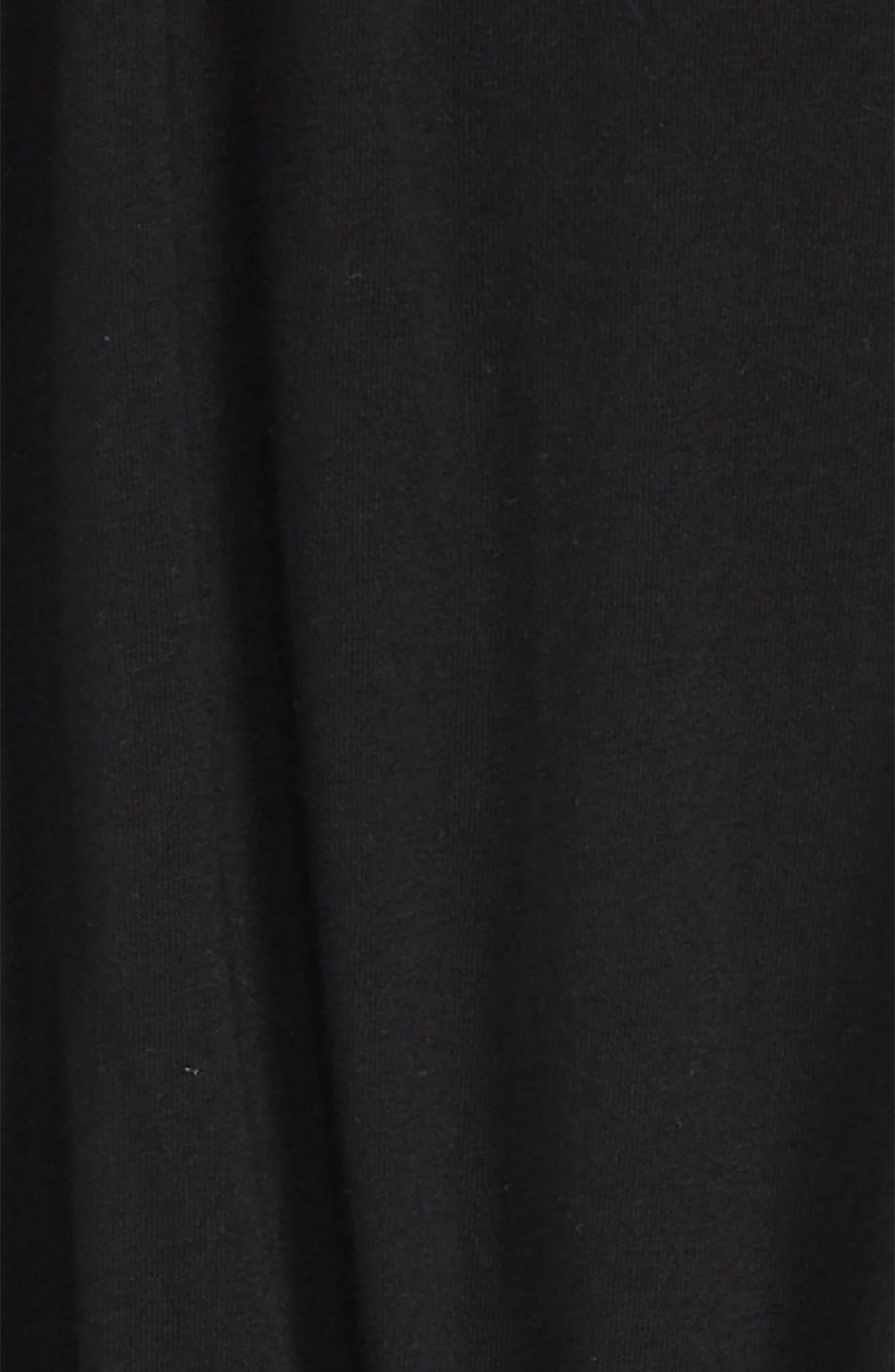 Corrie Cotton Blend Romper,                             Alternate thumbnail 2, color,                             BLACK