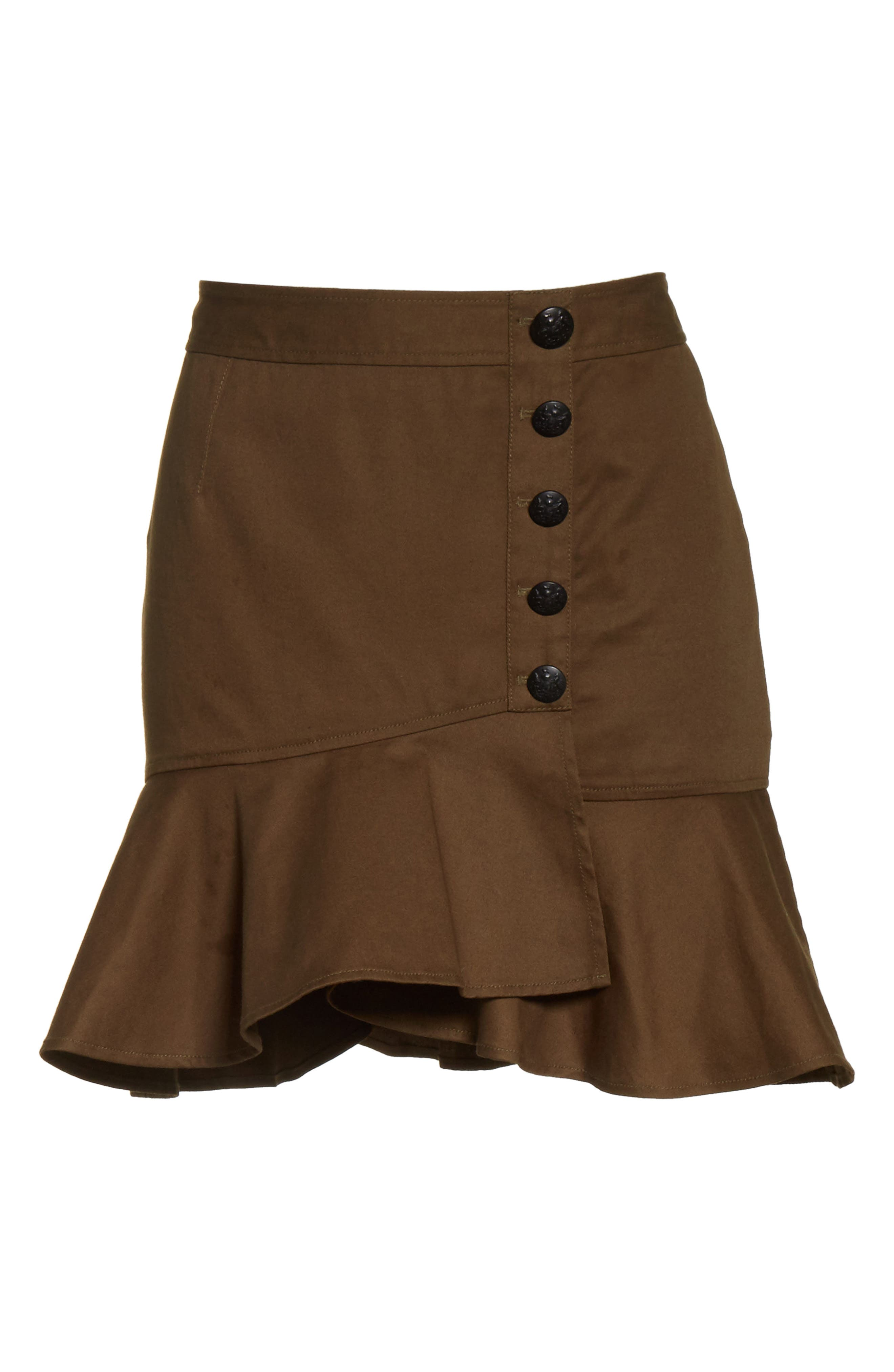 Claremont Flounce Skirt,                             Alternate thumbnail 6, color,                             310