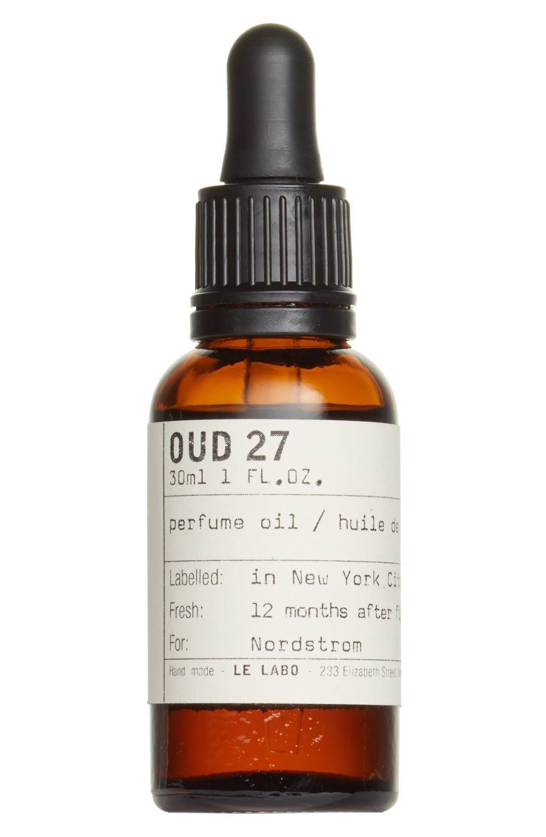 'Oud 27' Perfume Oil,                         Main,                         color, NO COLOR