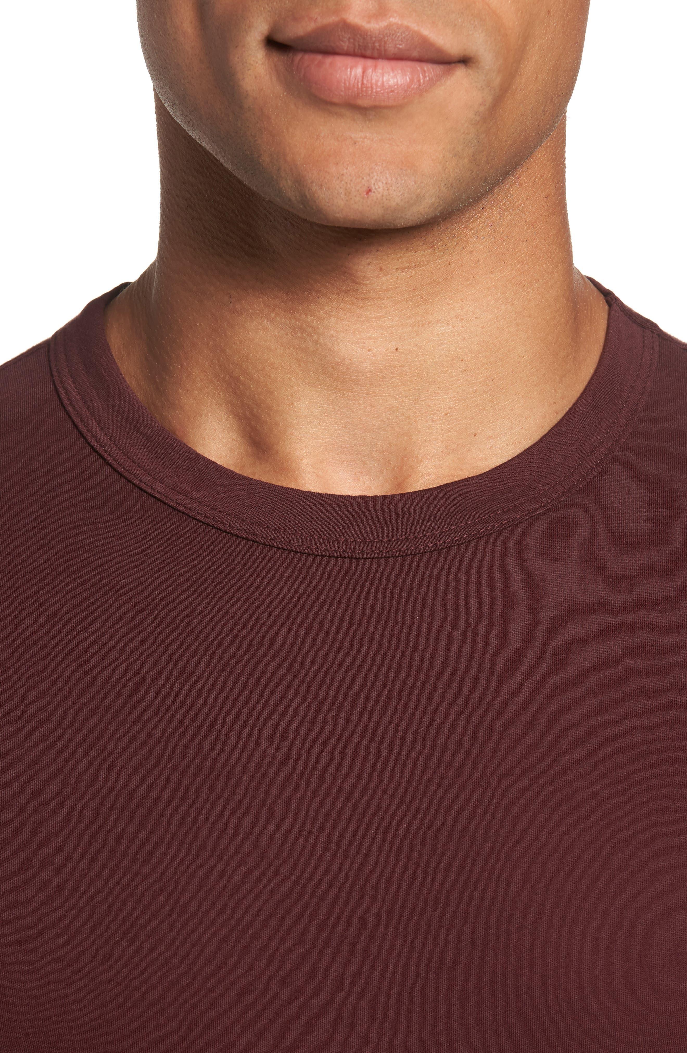 Crewneck Jersey T-Shirt,                             Alternate thumbnail 415, color,