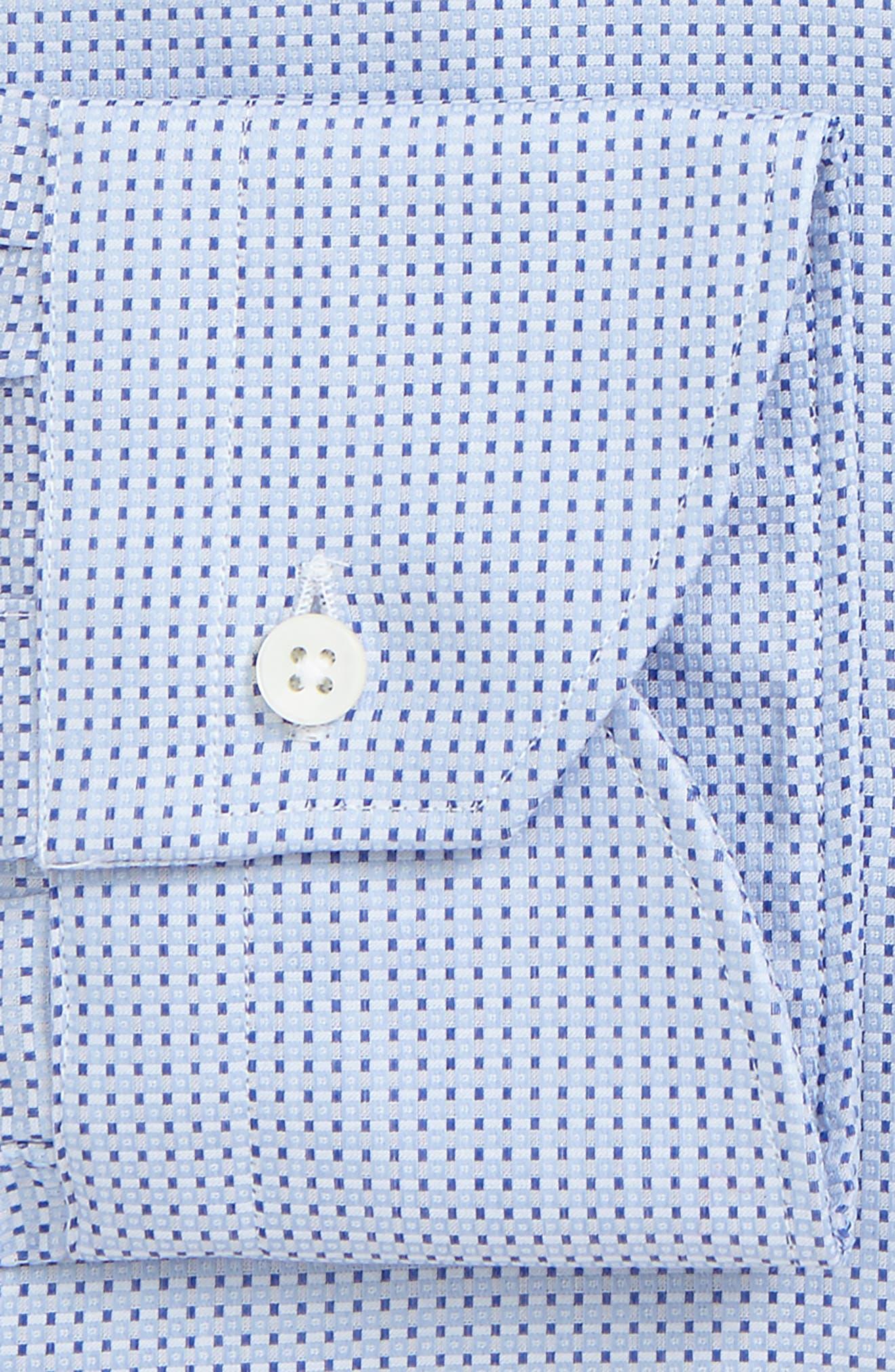 Regular Fit Geometric Dress Shirt,                             Alternate thumbnail 2, color,                             450