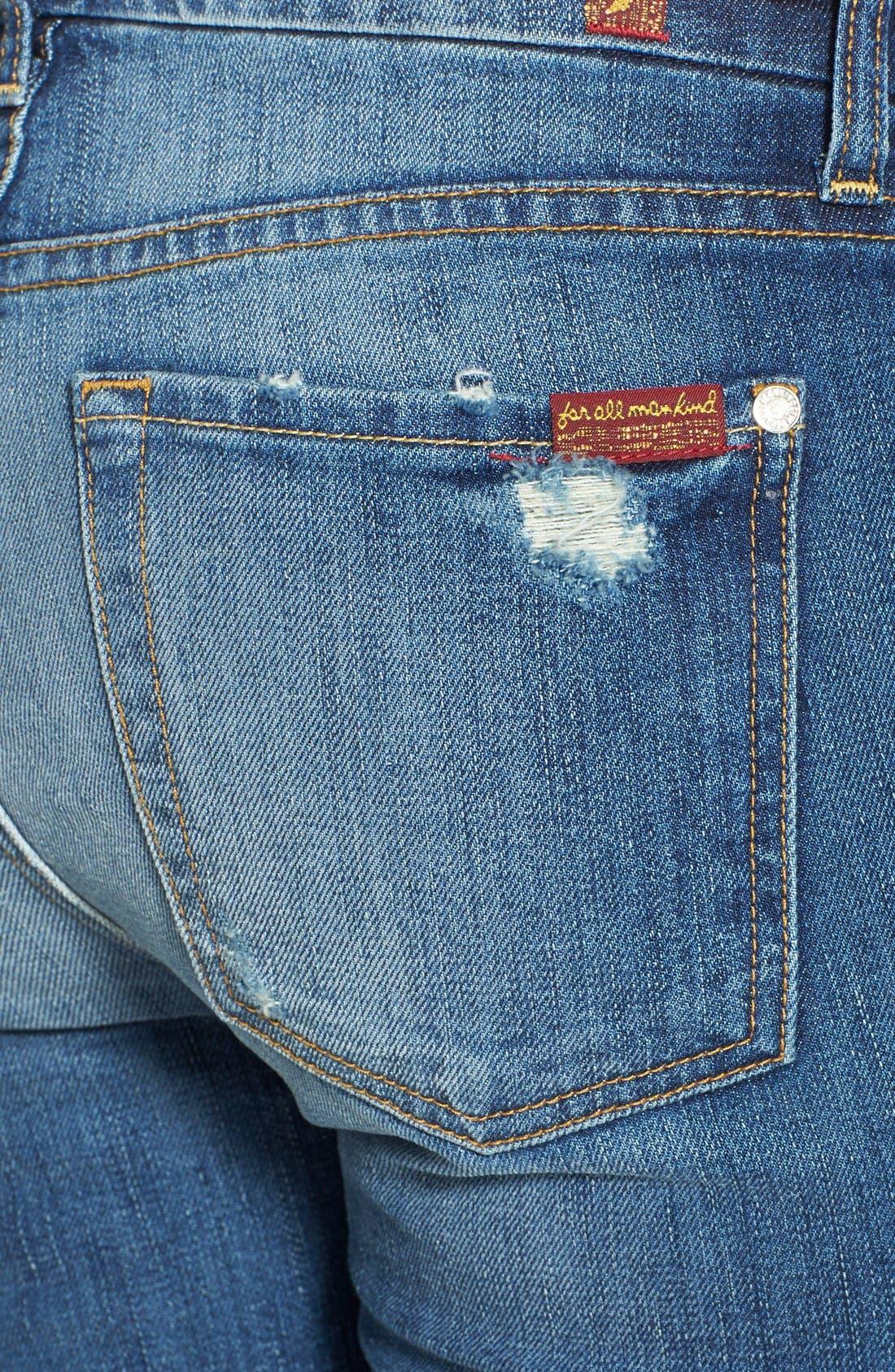 Skinny Jeans,                             Alternate thumbnail 4, color,                             400