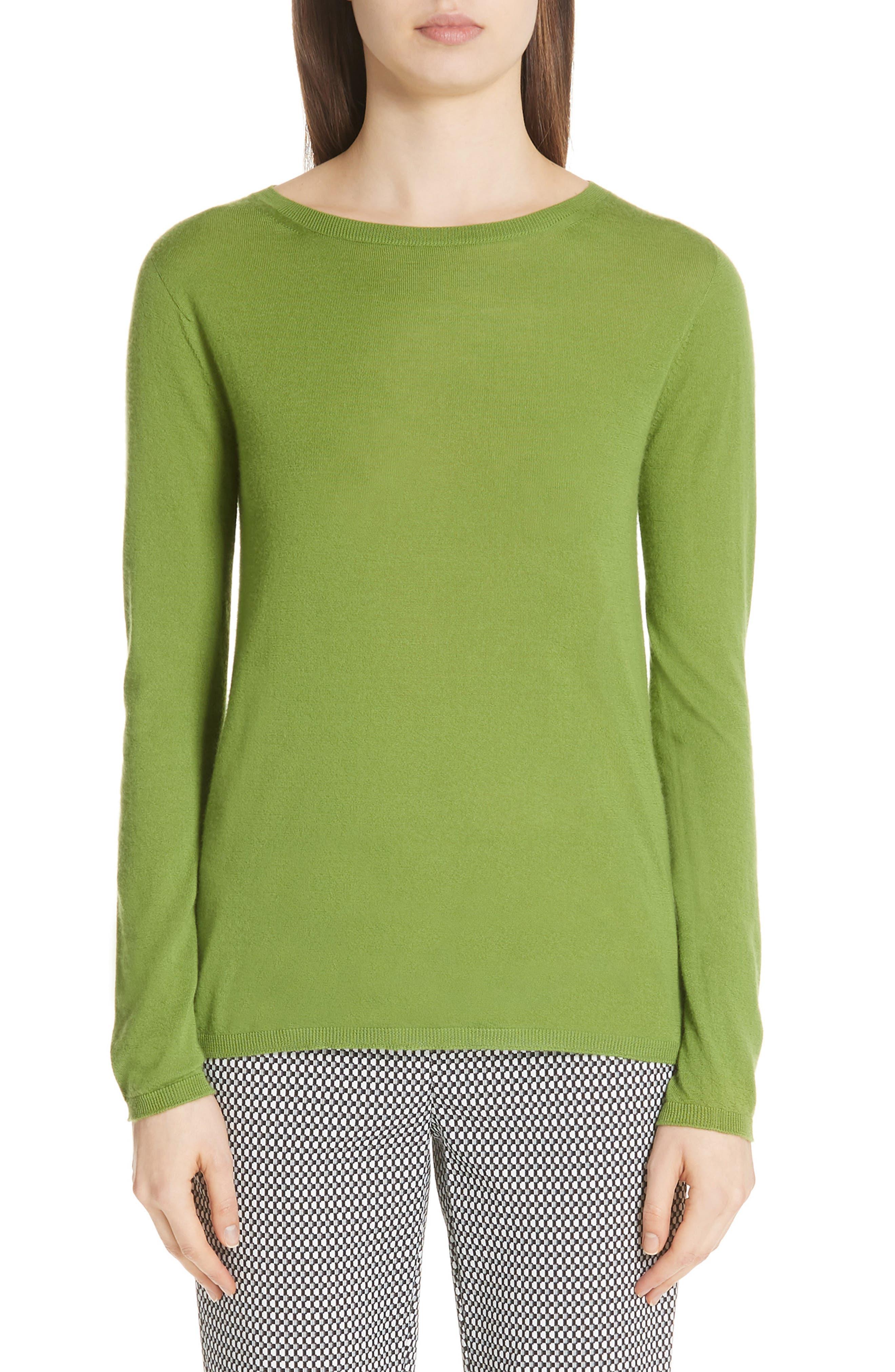 MAX MARA,                             Charles Cashmere Sweater,                             Main thumbnail 1, color,                             314
