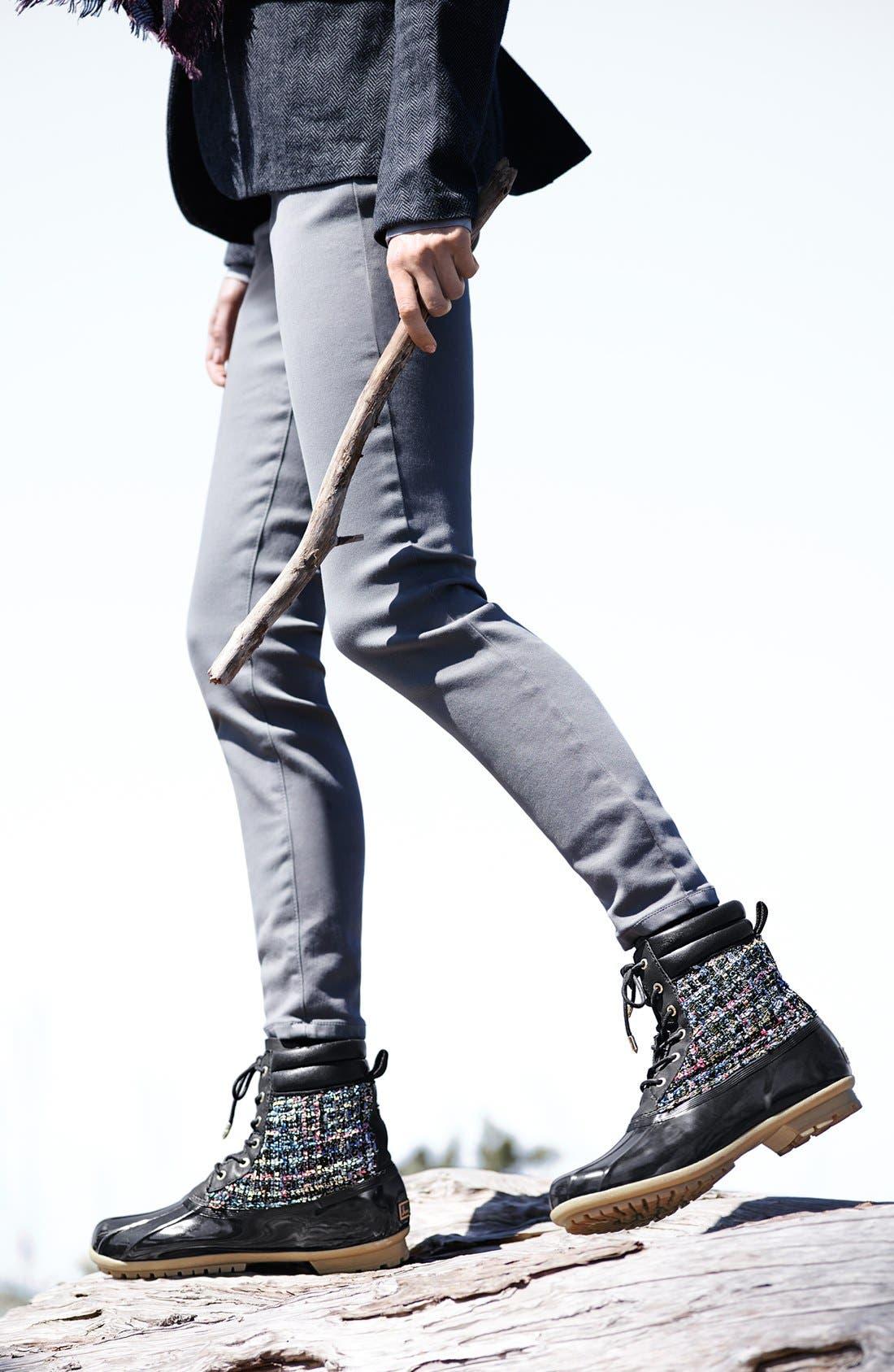 'Caldwell' Rain Boot,                             Alternate thumbnail 5, color,                             001