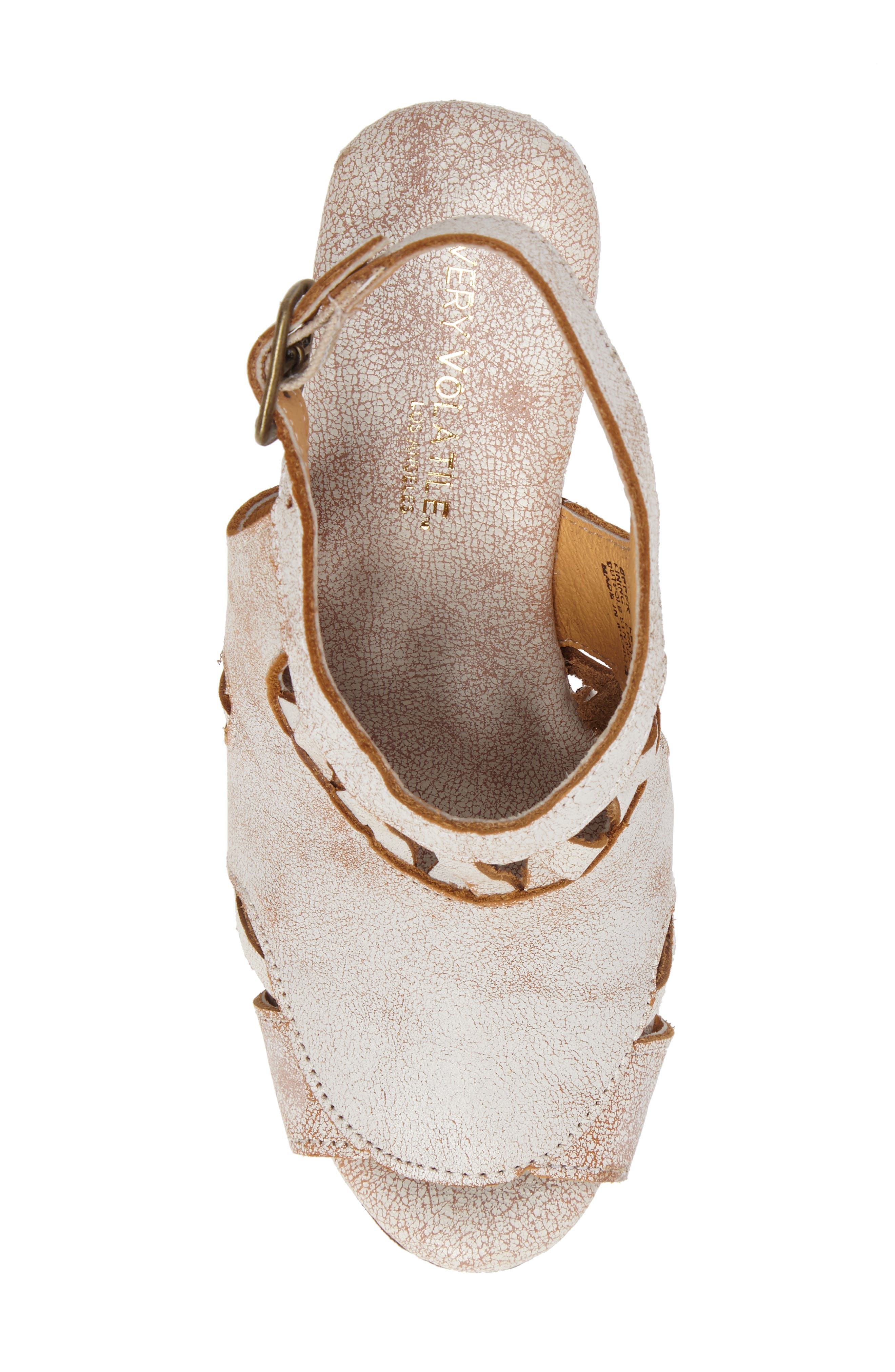 Sloane Platform Wedge Sandal,                             Alternate thumbnail 10, color,