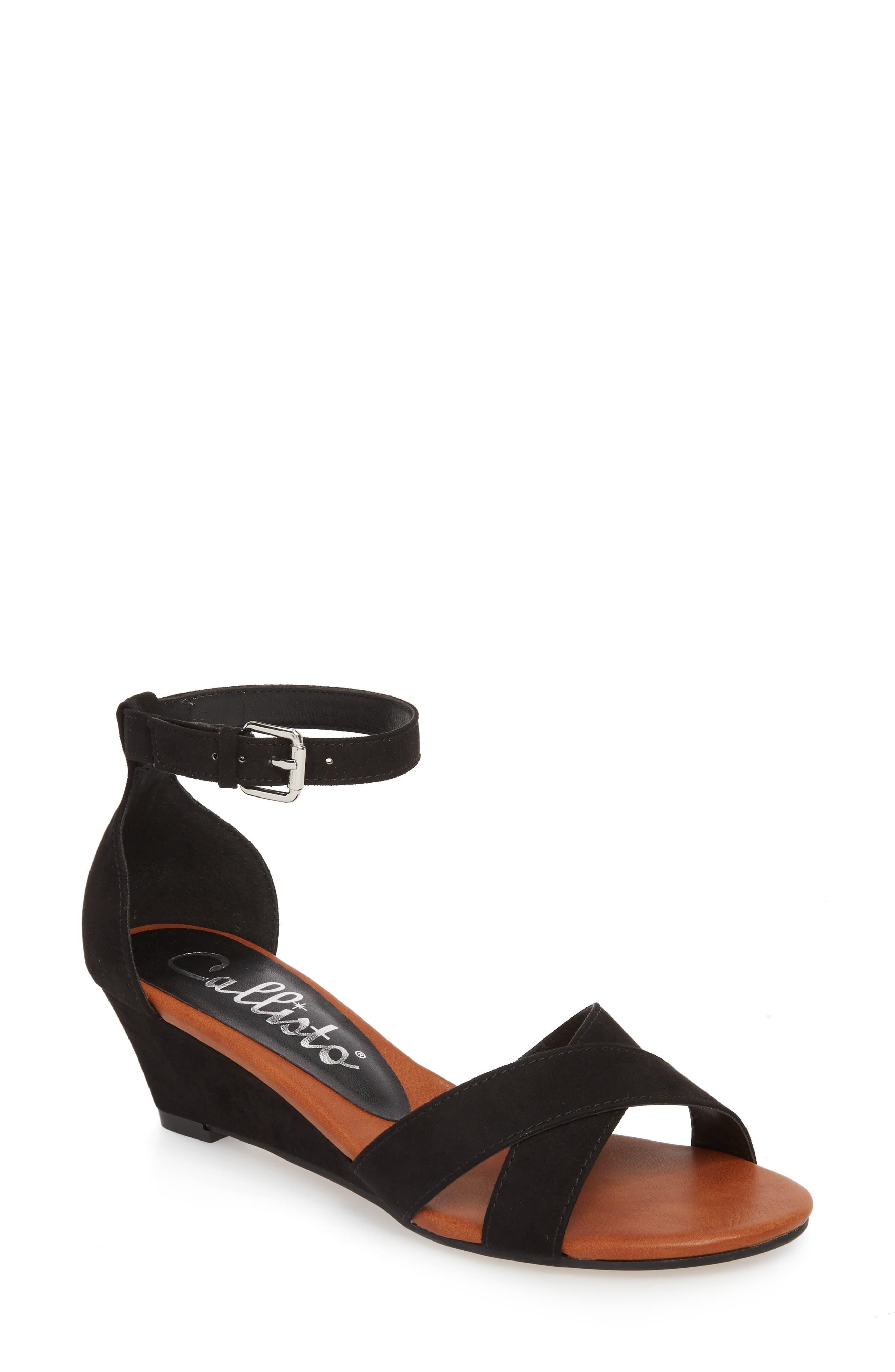 Strobe Wedge Sandal,                         Main,                         color, 003
