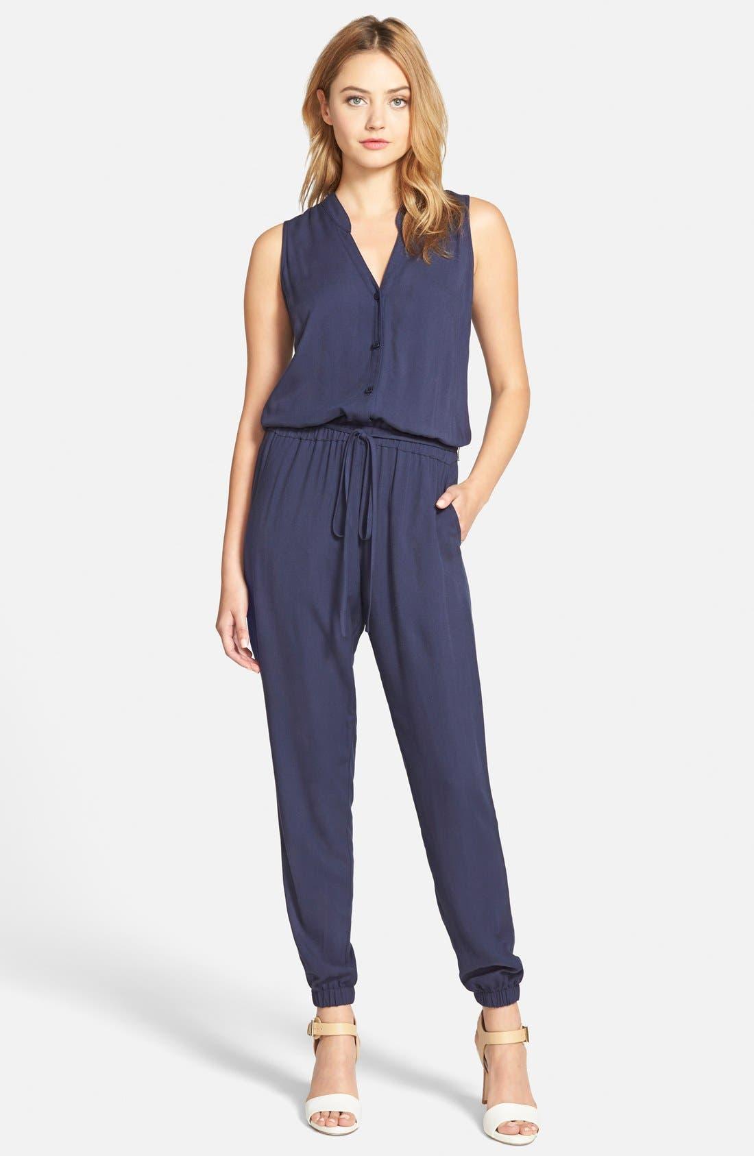 CUPCAKES AND CASHMERE 'Roxbury' Jumpsuit, Main, color, 410